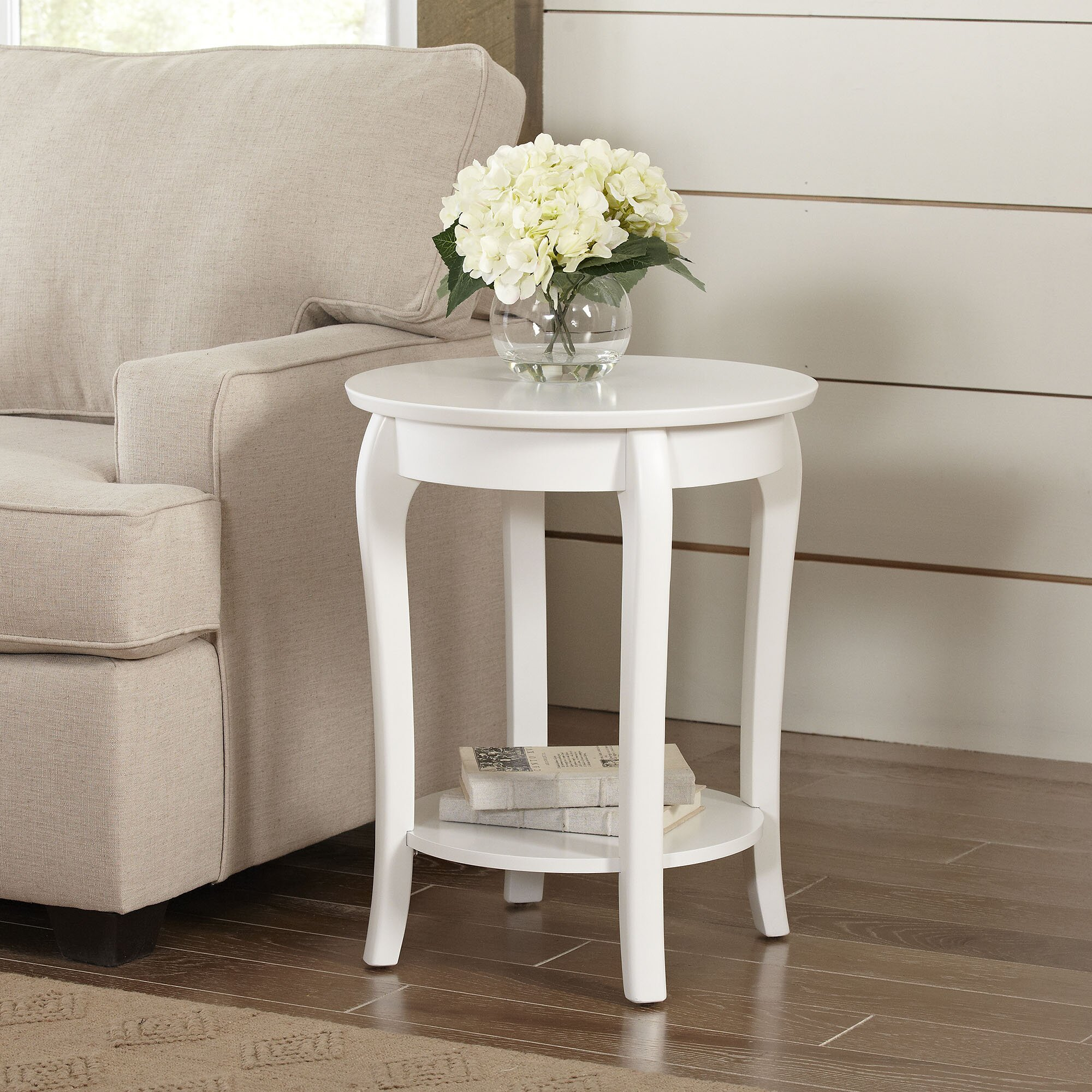 Round side tables - Alberts Round Side Table Reviews Birch Lane