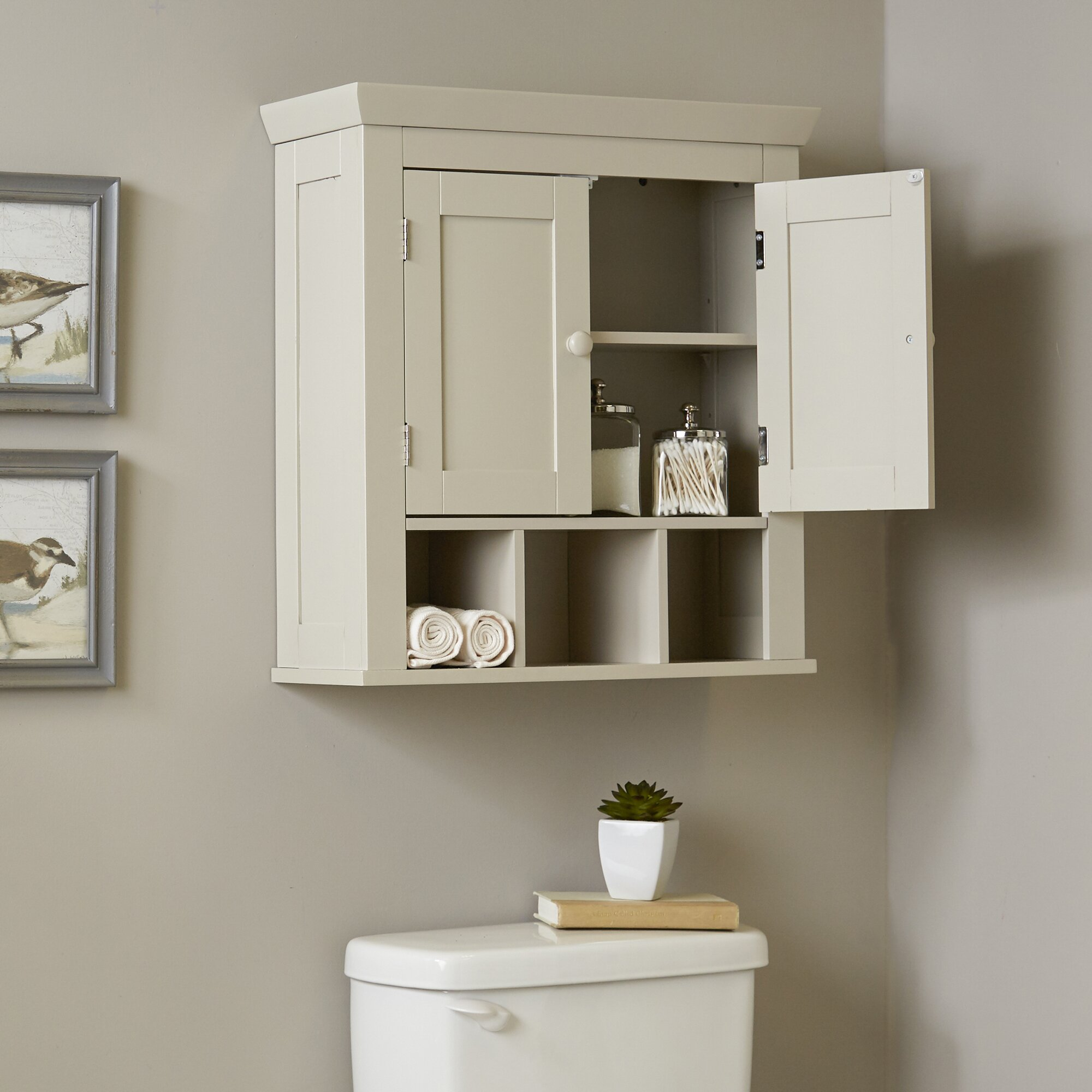Bathroom storage wall cabinets - Birch Lane Trade Caraway Bathroom Wall Cabinet
