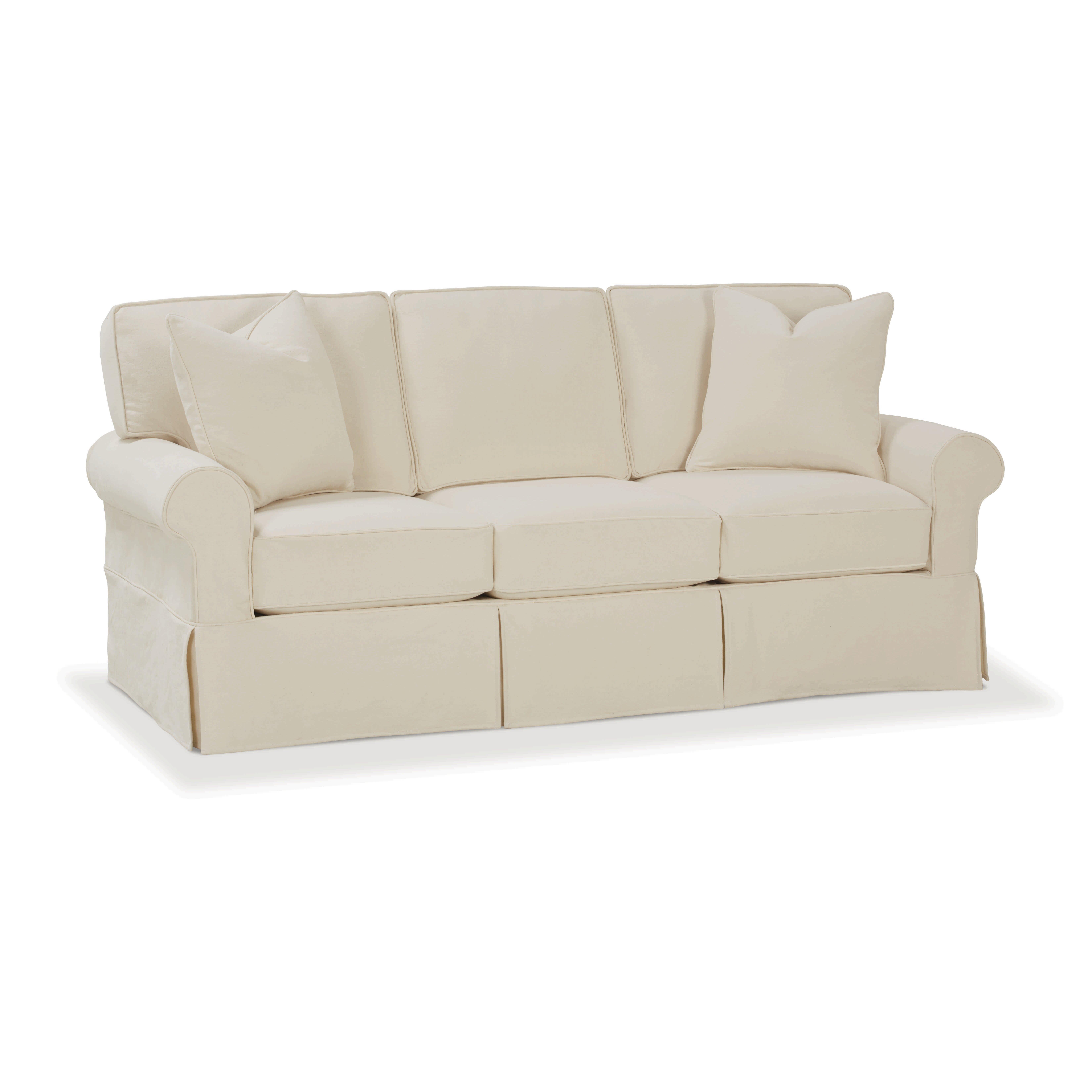 Rowe Furniture Nantucket Slipcovered Sleeper Sofa ...