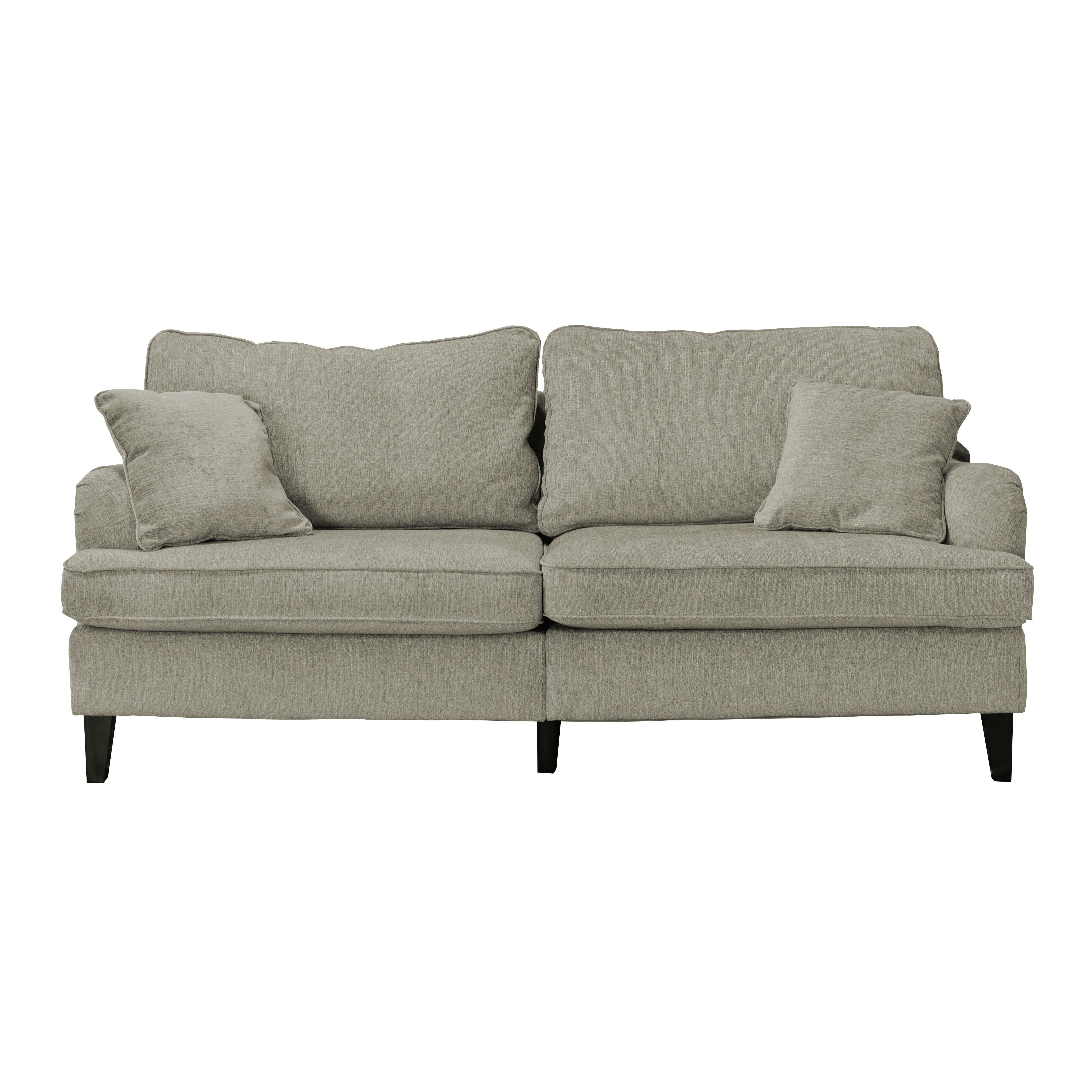 Serta At Home Carlisle 85 Sofa With Pleated Arms