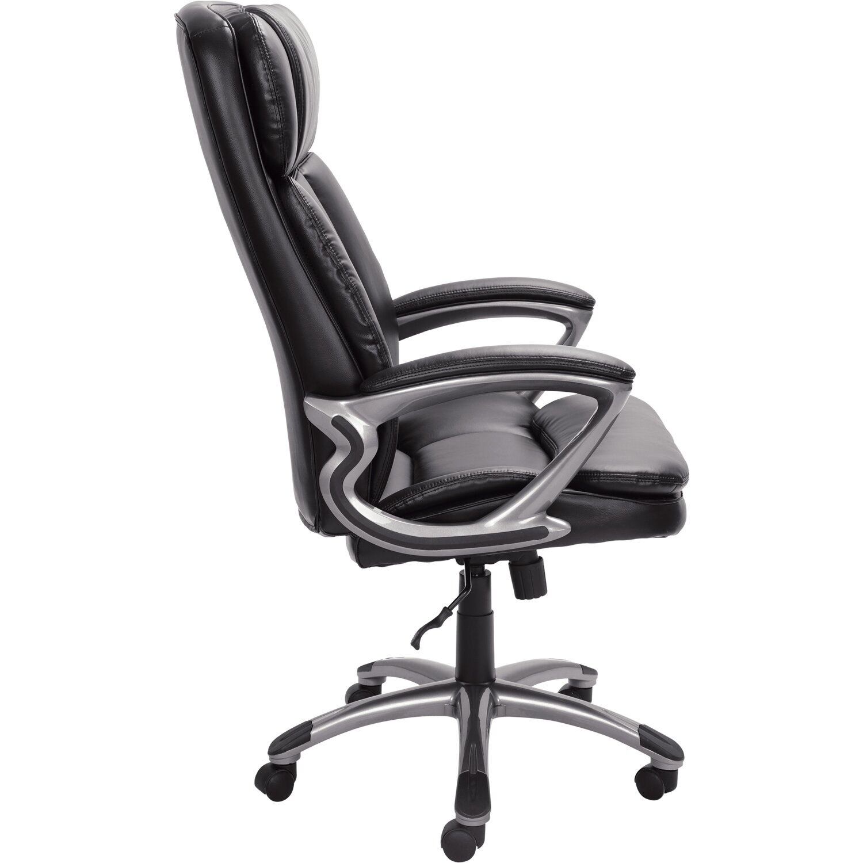Serta At Home High Back Leather Executive Chair Reviews Wayfair