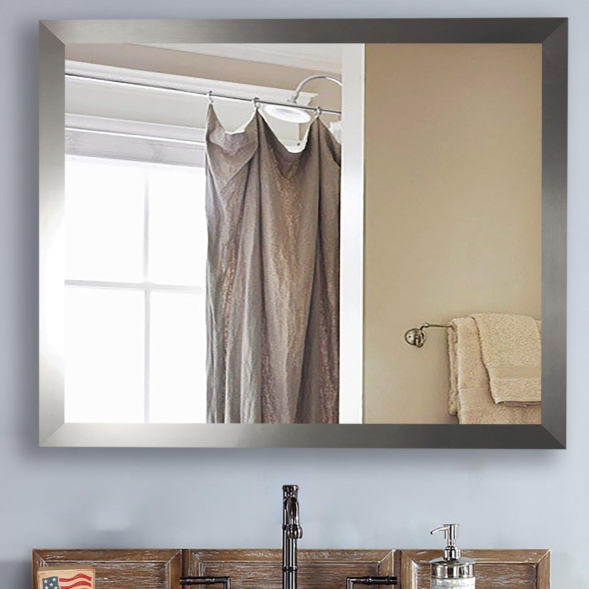 Rayne Mirrors Ava Modern Wall Mirror Reviews Wayfair