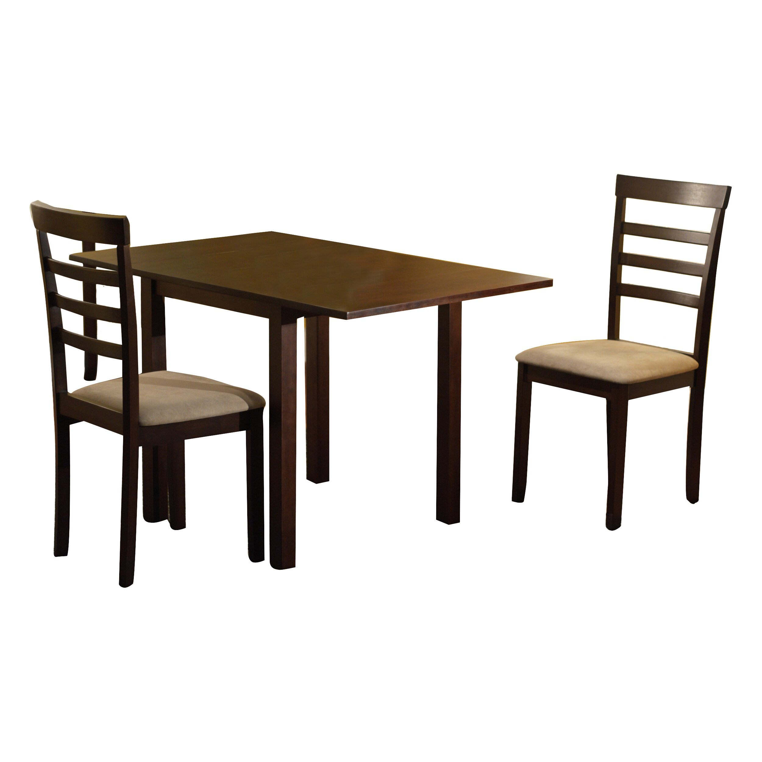 tms madison 3 piece dining set & reviews | wayfair