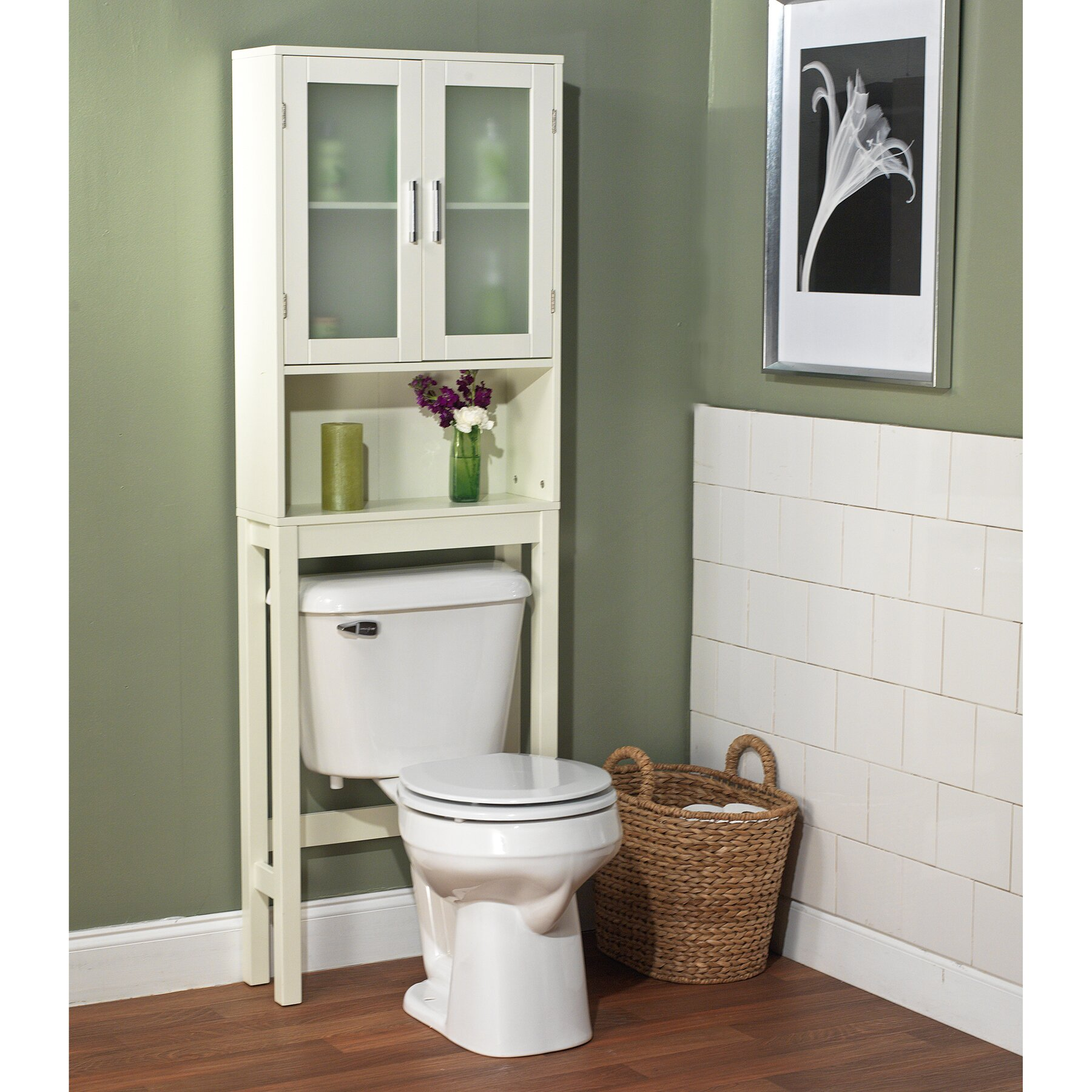 over-toilet storage cabinet & reviews | joss & main