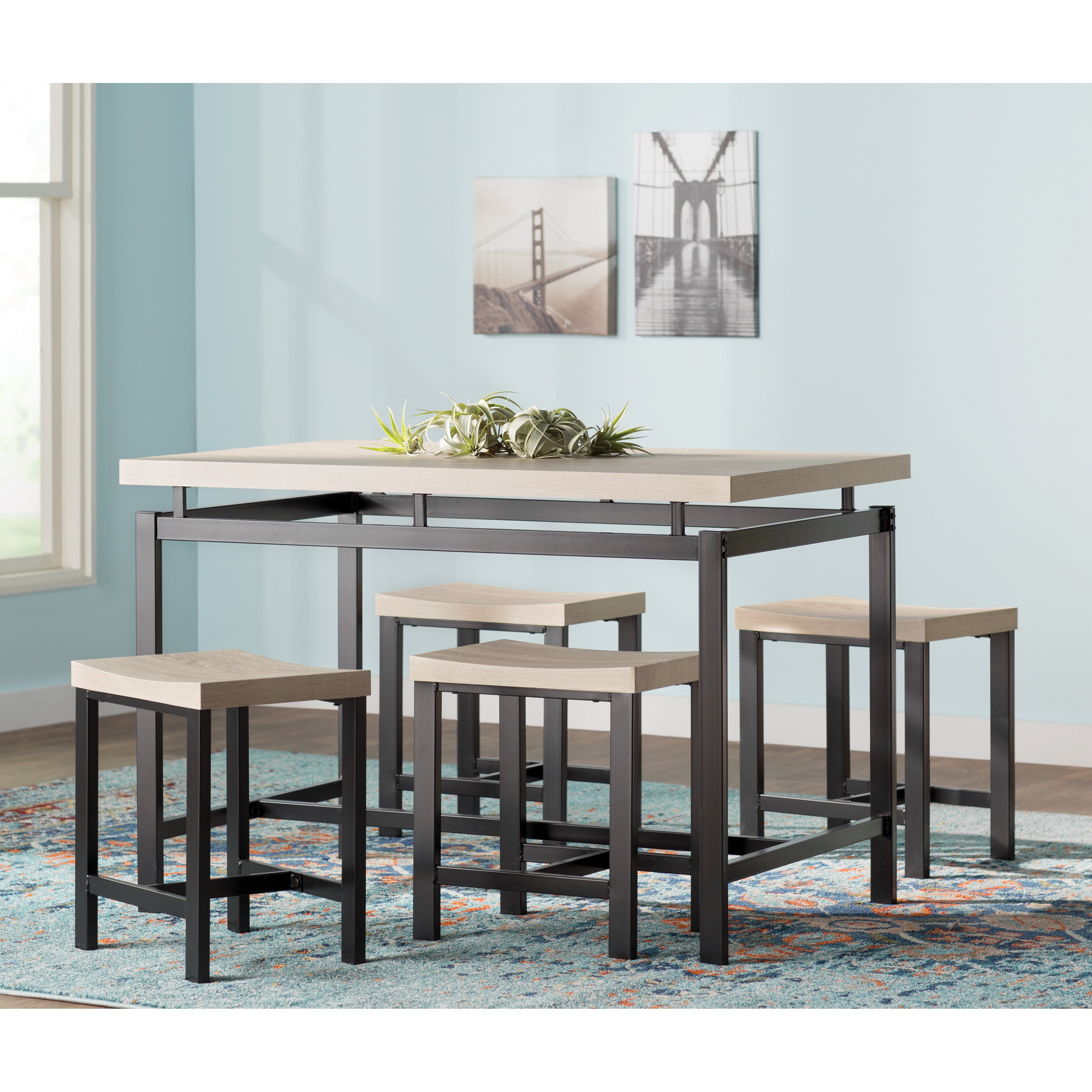 dining furniture 5 piece kitchen dining room sets tms sku