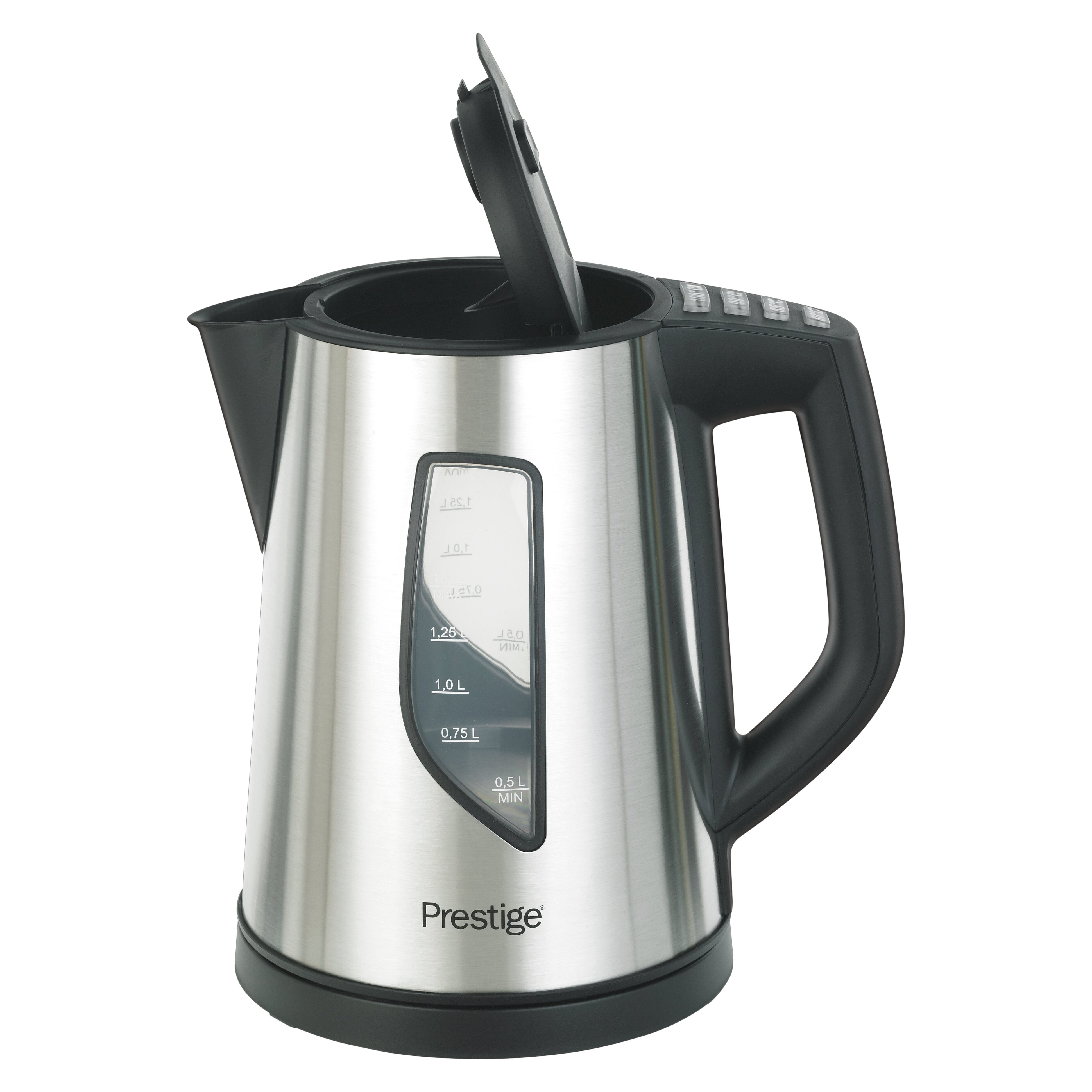 Stainless Electric Kettle ~ Prestige l stainless steel cordless electric kettle