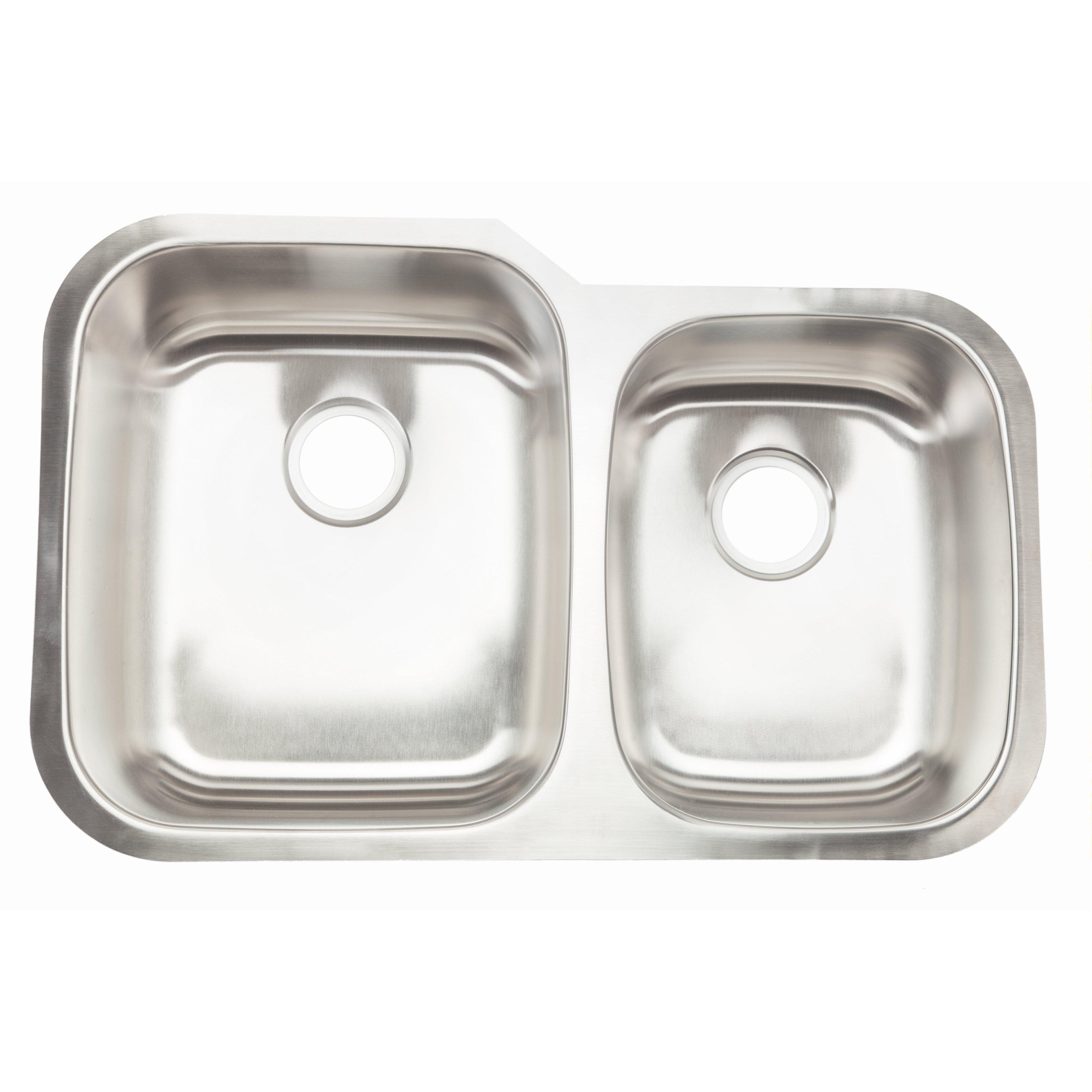 Hahn Classic Chef 32 x 20.63 Double Bowl Undermount Kitchen Sink