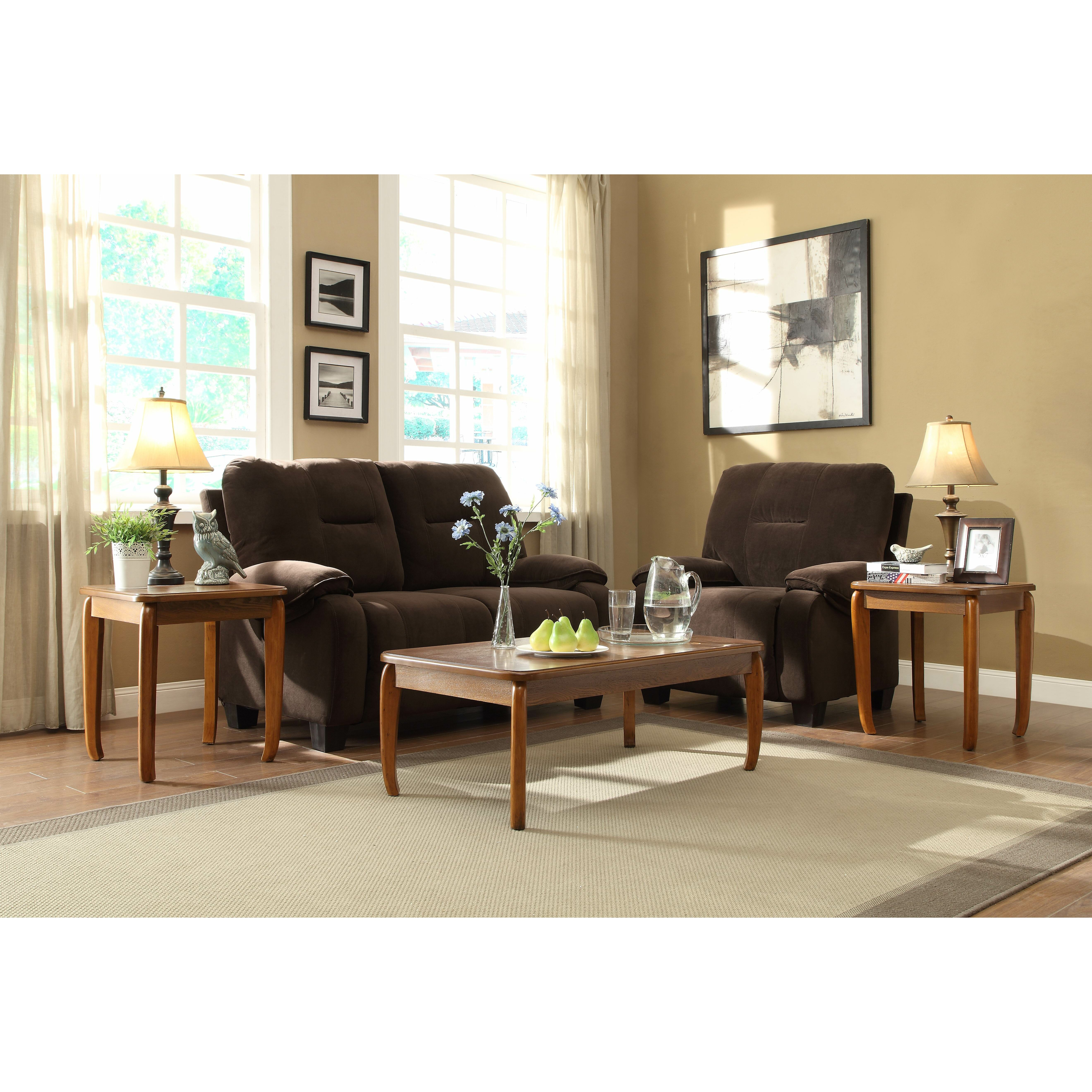 Woodhaven Living Room Furniture Woodhaven Hill Barnaby 3 Piece Occasional Coffee Table Set