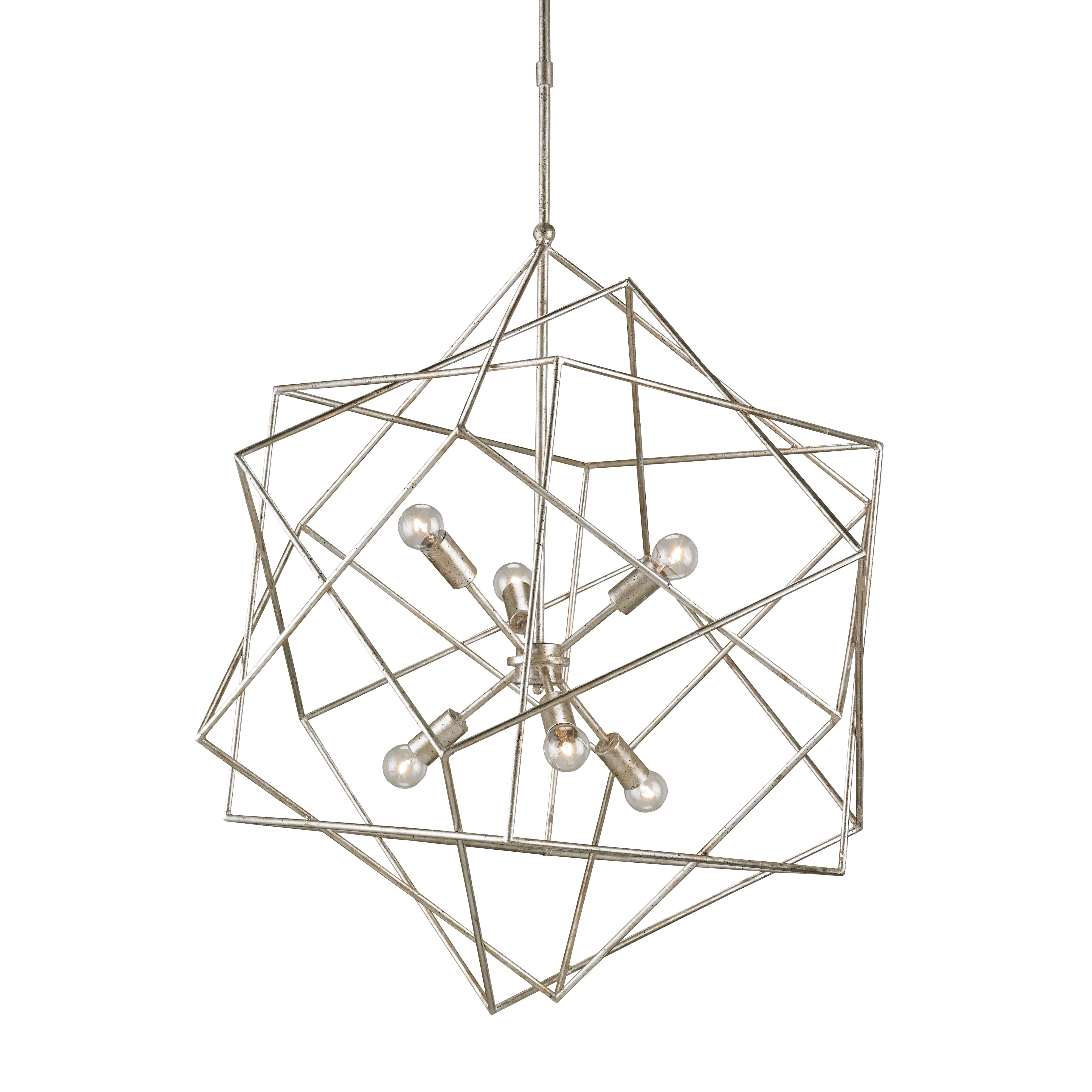 Aerial 6Light Sputnik Chandelier Reviews – Currey and Company Lighting Chandeliers