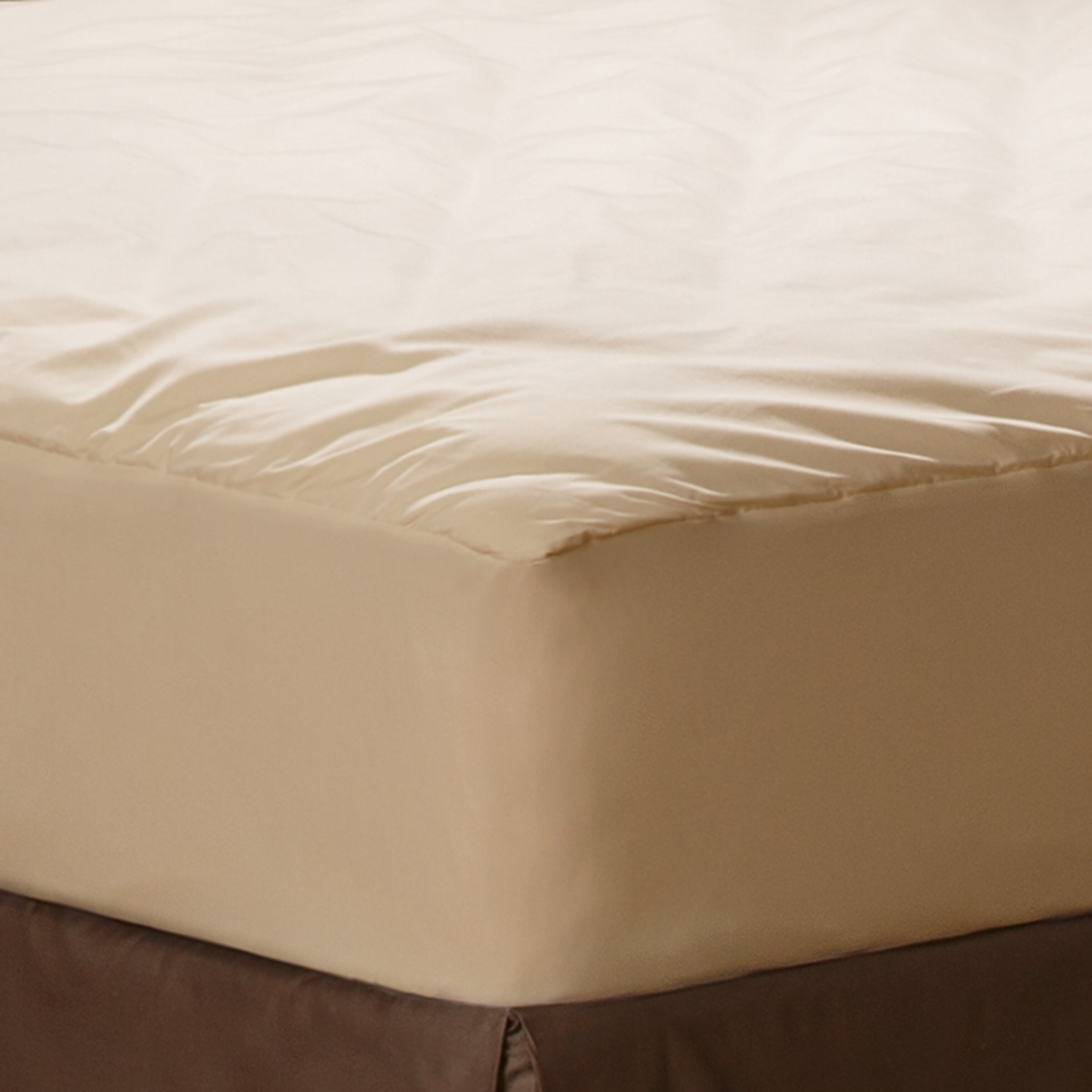 AllerEase Naturals Organic Cotton fort Mattress Pad