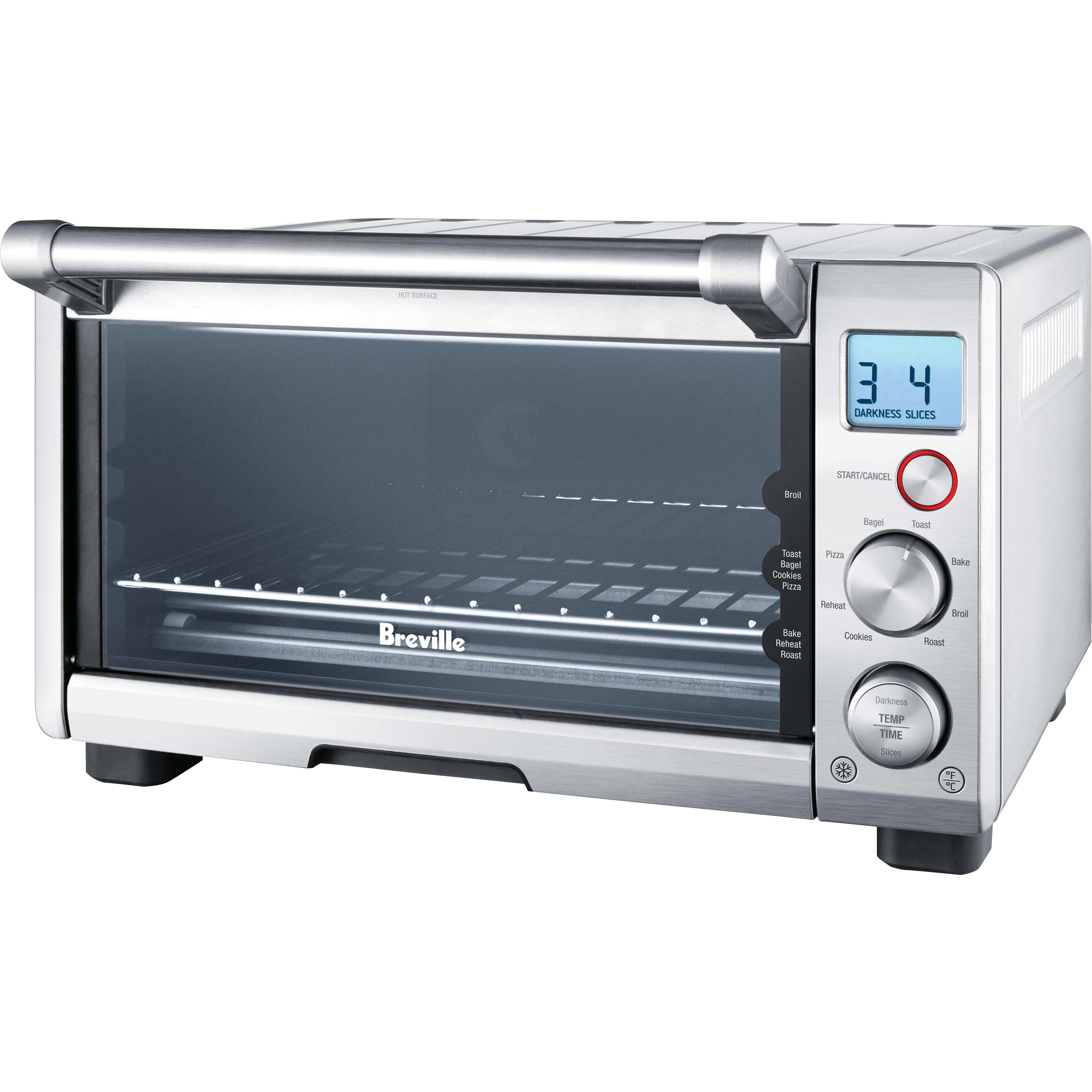 Under the cabinet toaster oven - Breville Compact Smart Toaster Oven