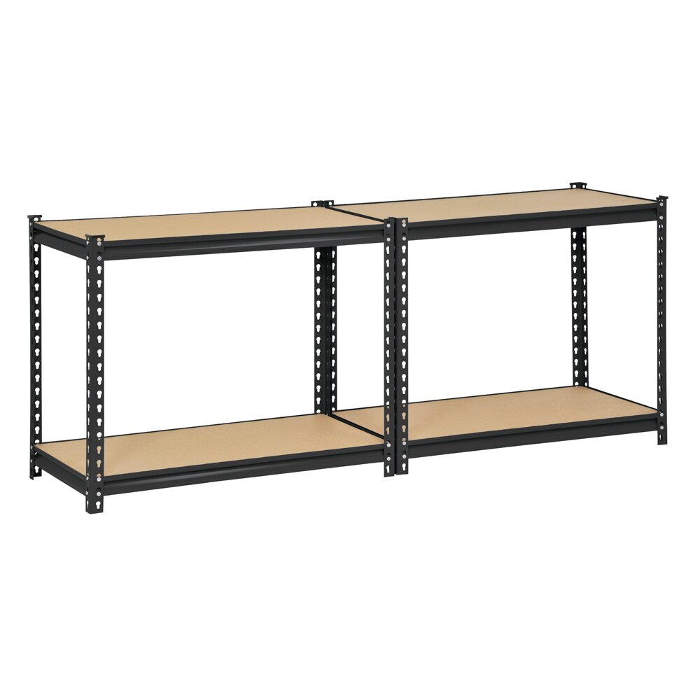 Edsal 5 shelf heavy duty steel shelving - Edsal Sandusky 60 Quot H Steel Four Shelf Heavy Duty Shelving Unit