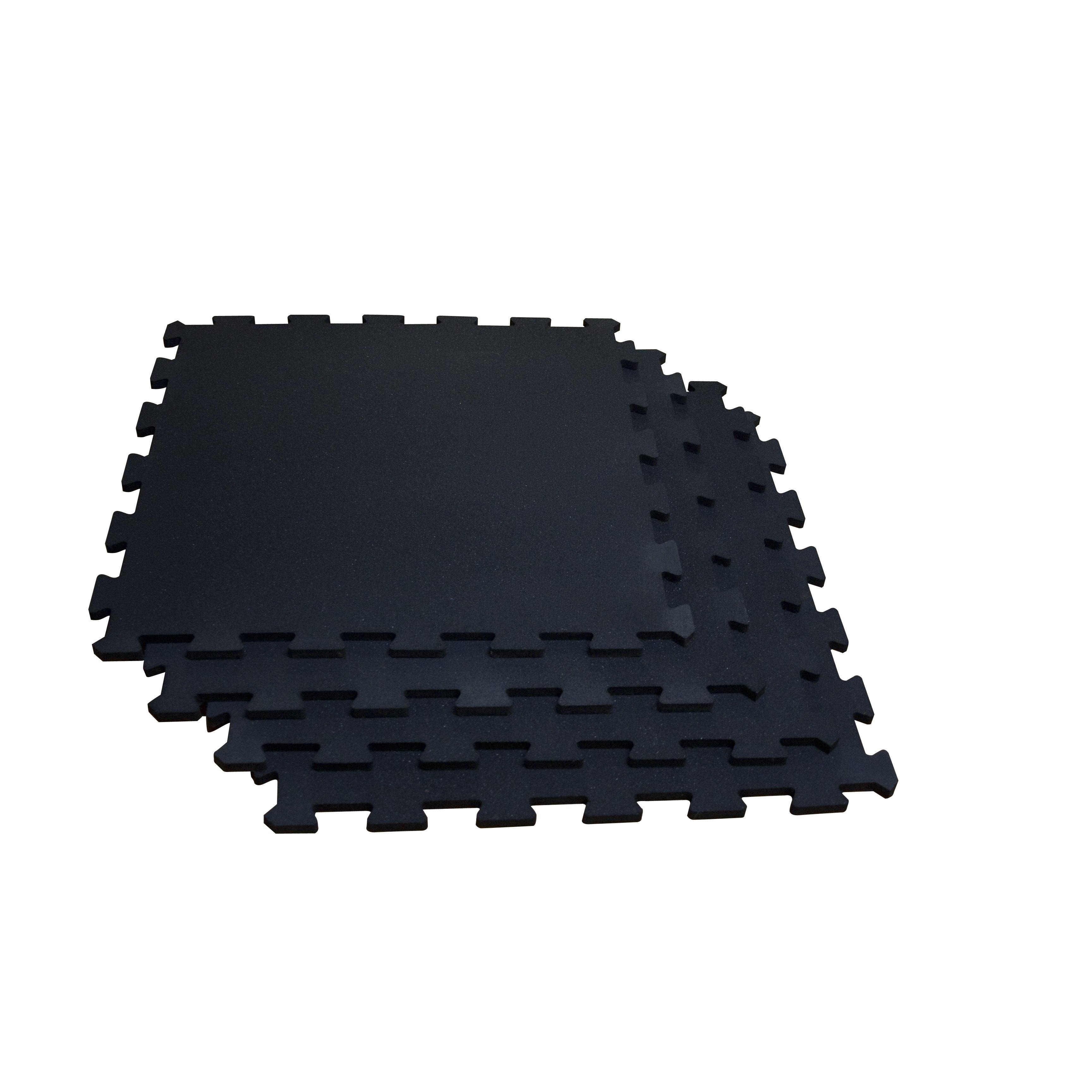 Rubber mats gym interlocking - Body Solid Interlocking Rubber Flooring