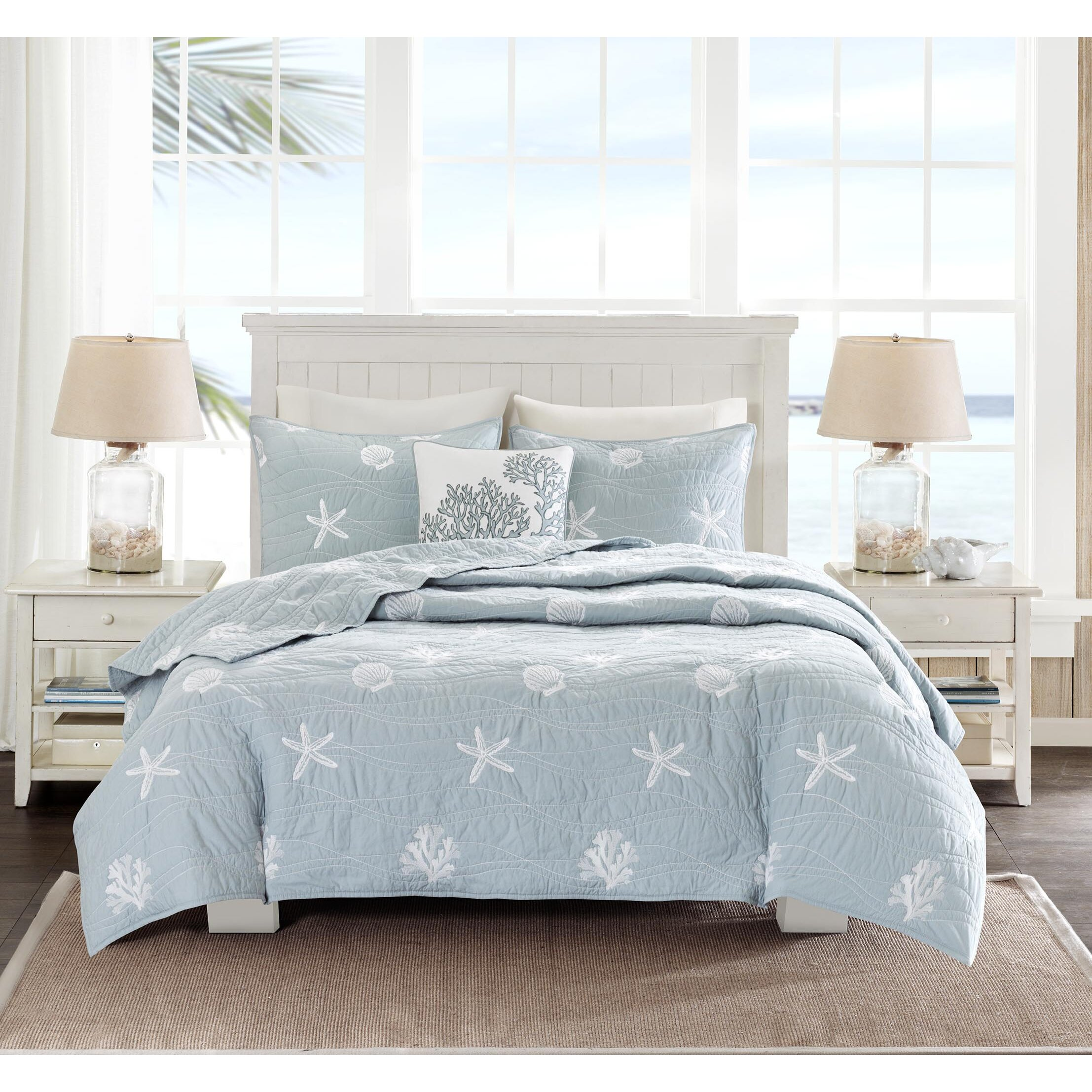 Seaside Bedroom Harbor House Seaside 4 Piece Queen Coverlet Set Reviews Wayfairca