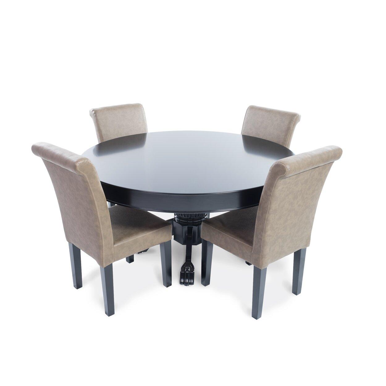 bbo poker nighthawk  piece poker dining table set  wayfair, Dining tables