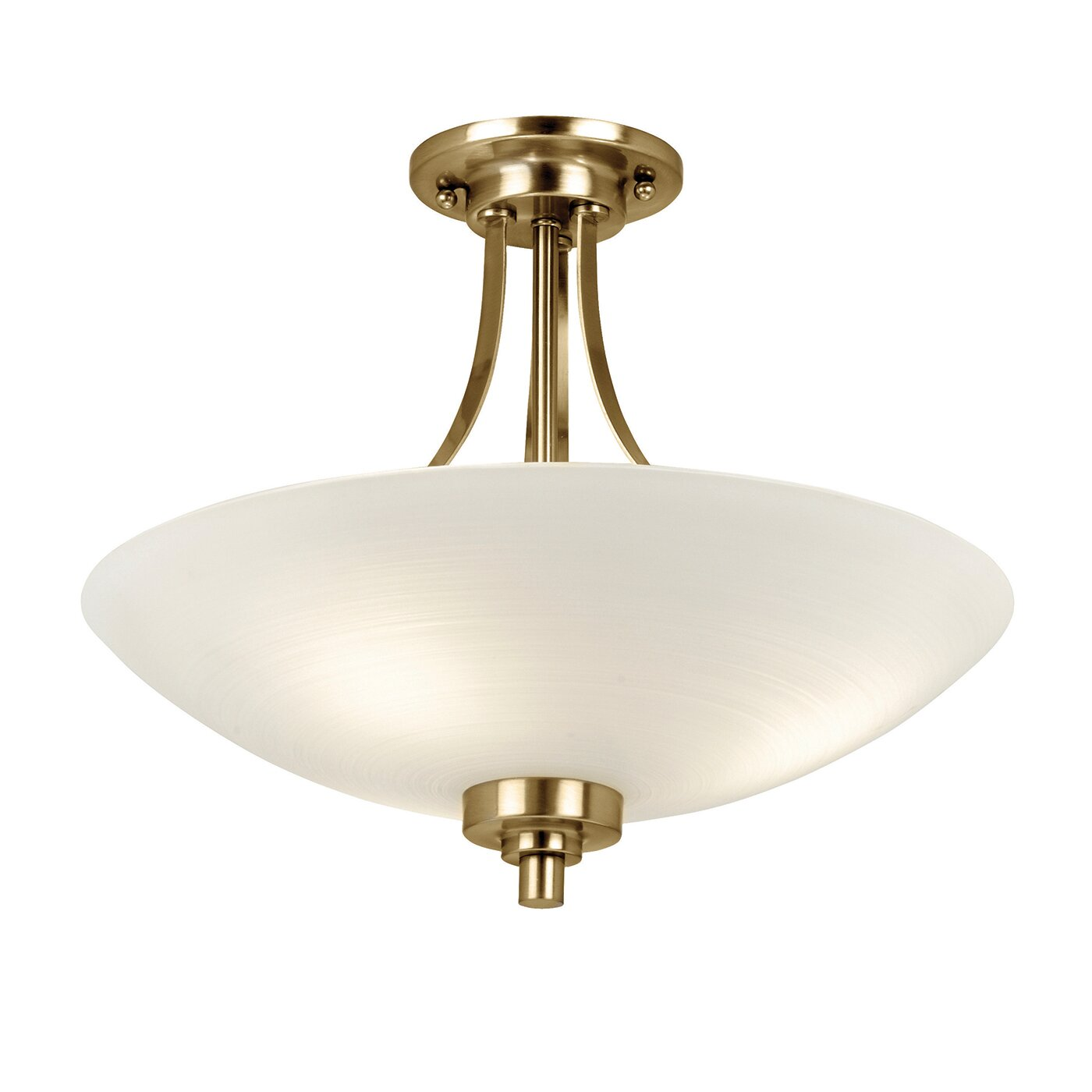 Wayfair Lights: Endon Lighting Welles 3 Light Semi-Flush Ceiling Light