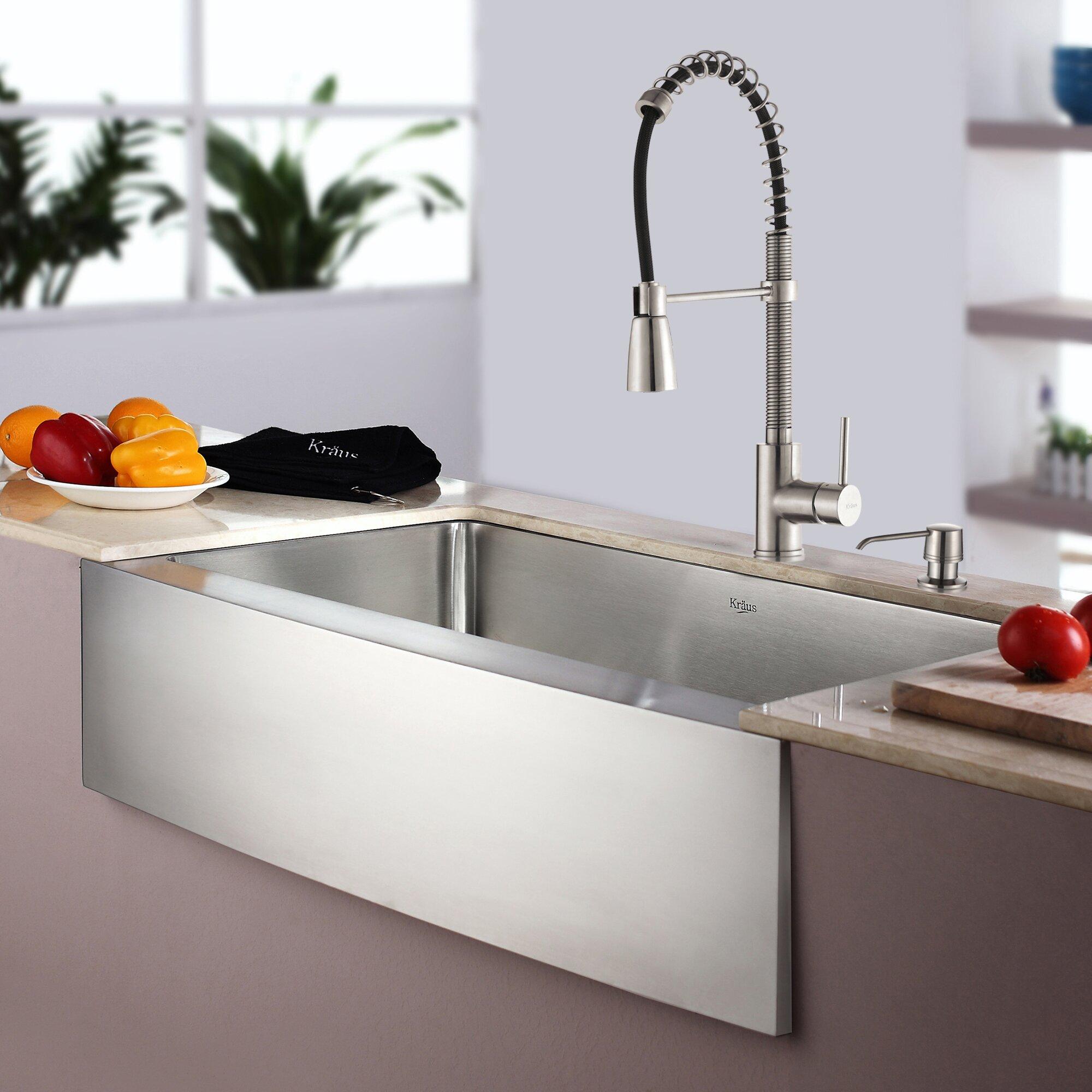Kraus Kitchen Sinks Canada : Kraus Kitchen Combo 33