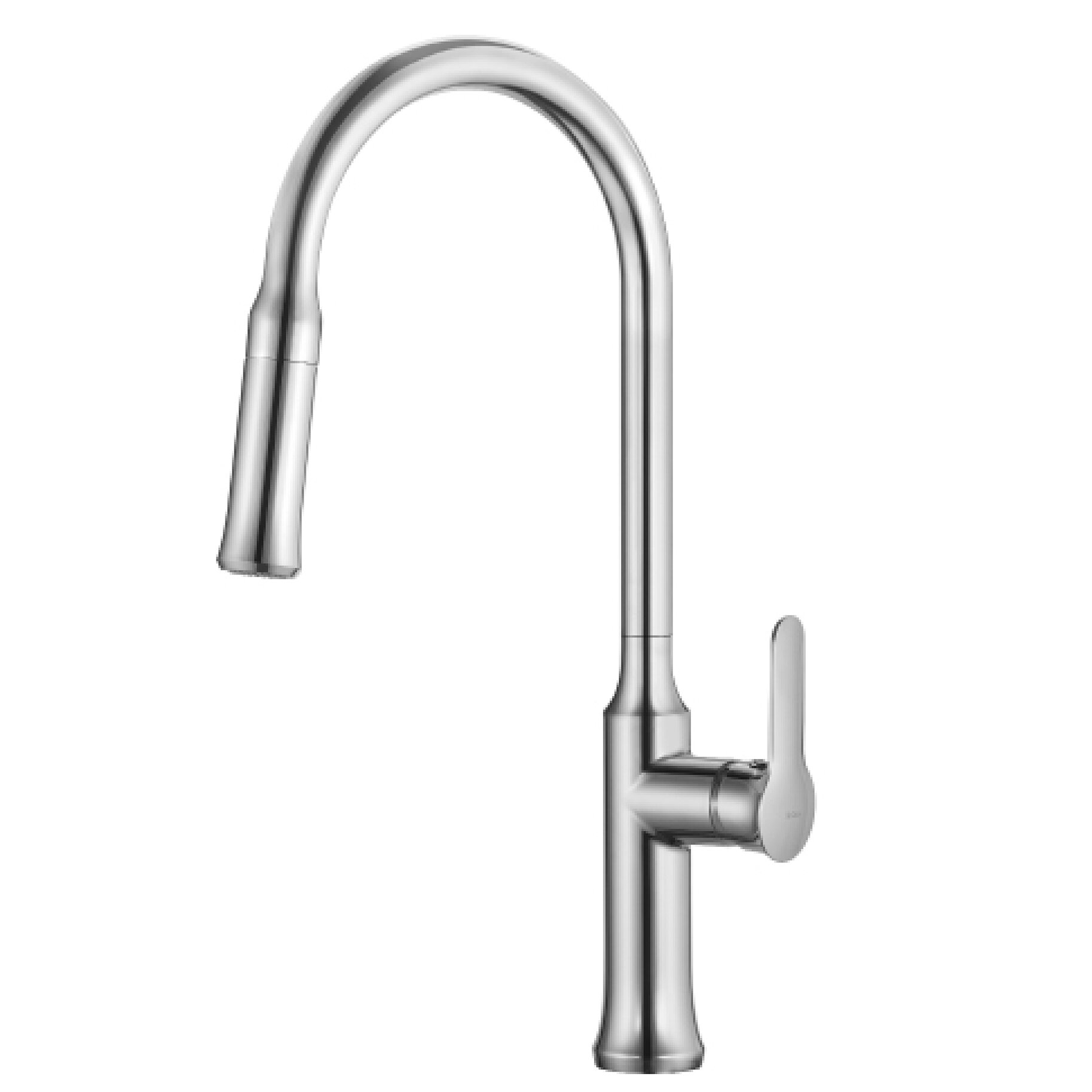 Kraus Bathroom Faucets : Kraus Nola? Single Lever Pull Down Kitchen Faucet & Reviews ...