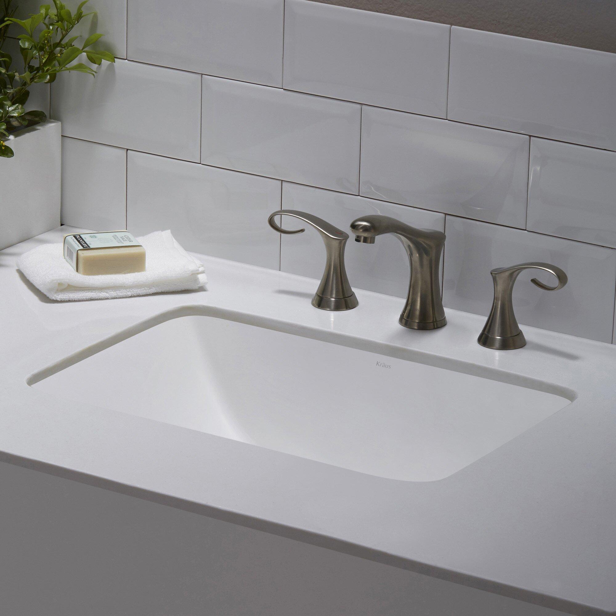 Undermount Bathroom Sink Rectangular Undermount Bathroom Sink