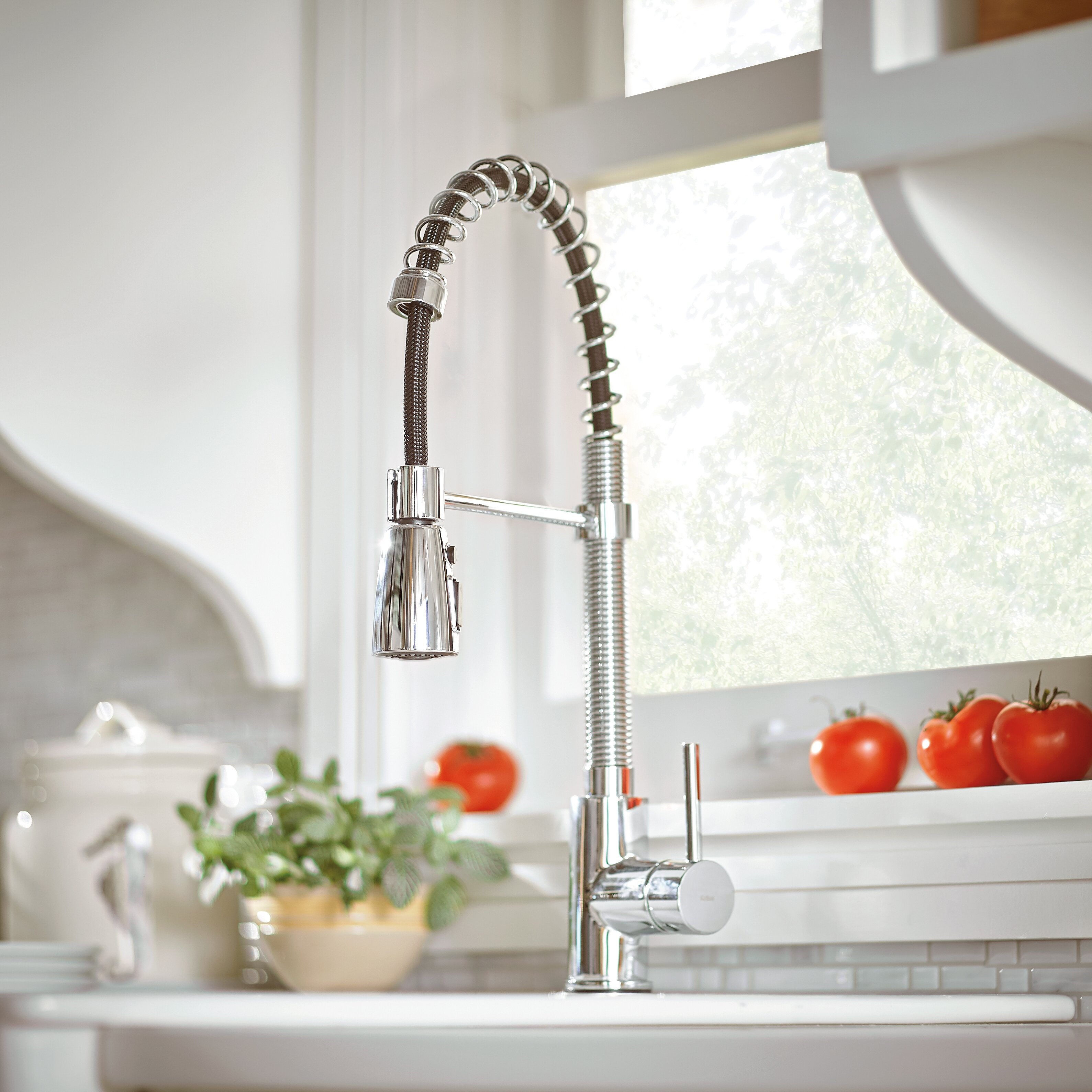 Retractable Kitchen Faucet Kraus Single Handle Pull Down Kitchen Faucet With 3 Function