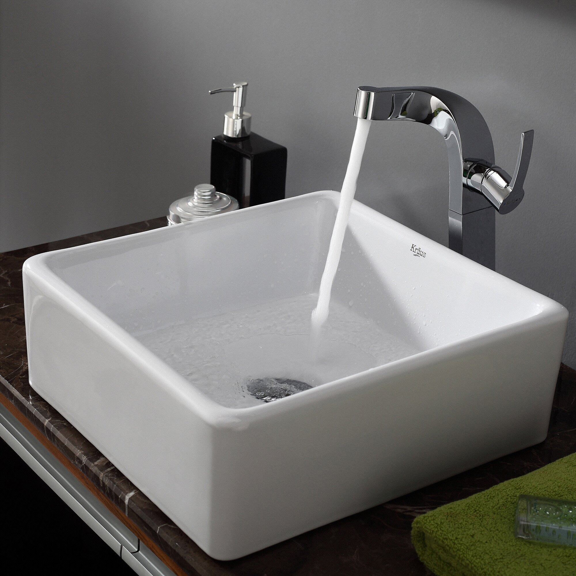 Square bathroom sinks - Square Bathroom Sinks 0