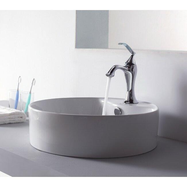 Bathroom Combos Bathroom Sink with Single Handle Single Hole Ventus ...