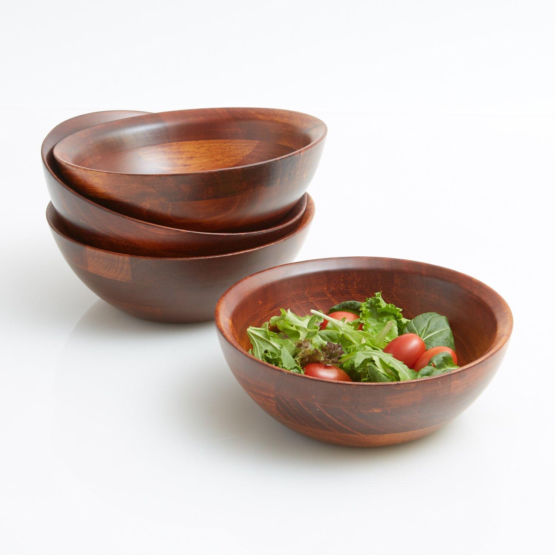 Woodard Amp Charles Salad With Style Individual Salad Bowls
