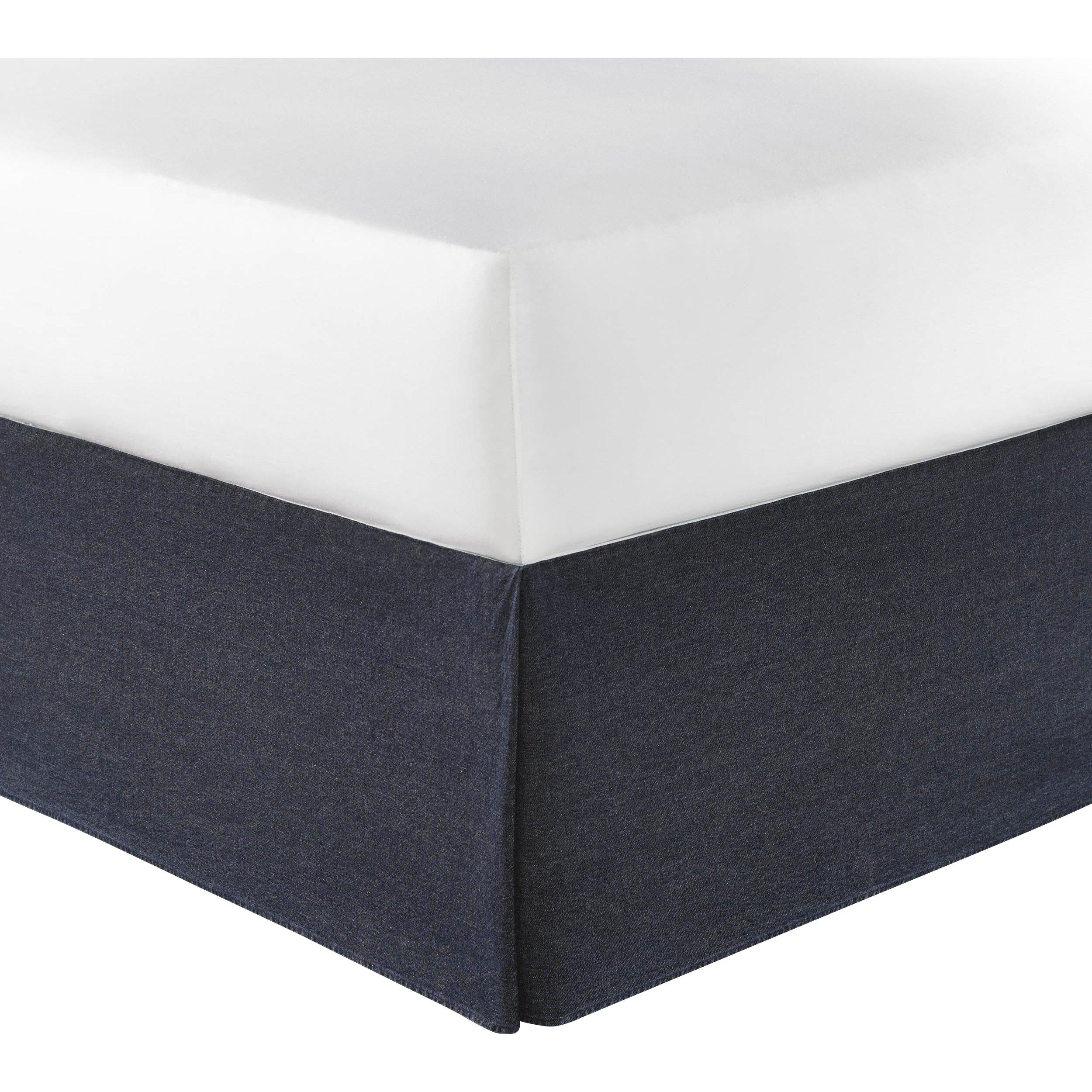 Nautica Bedroom Furniture Nautica Seaward Denim Bed Skirt Reviews Wayfair