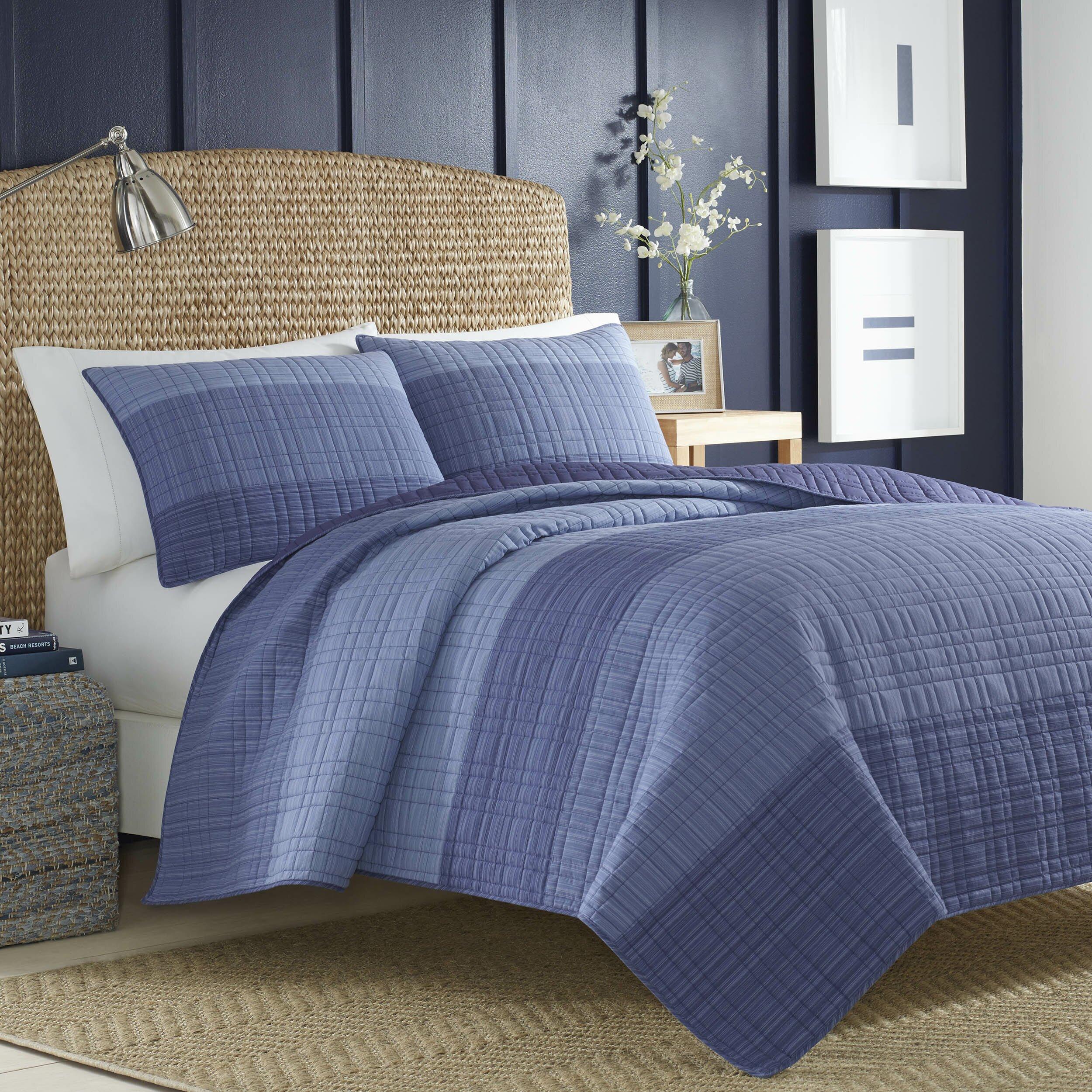 Nautica Bedroom Furniture Nautica Riverview Quilt Collection Reviews Wayfair