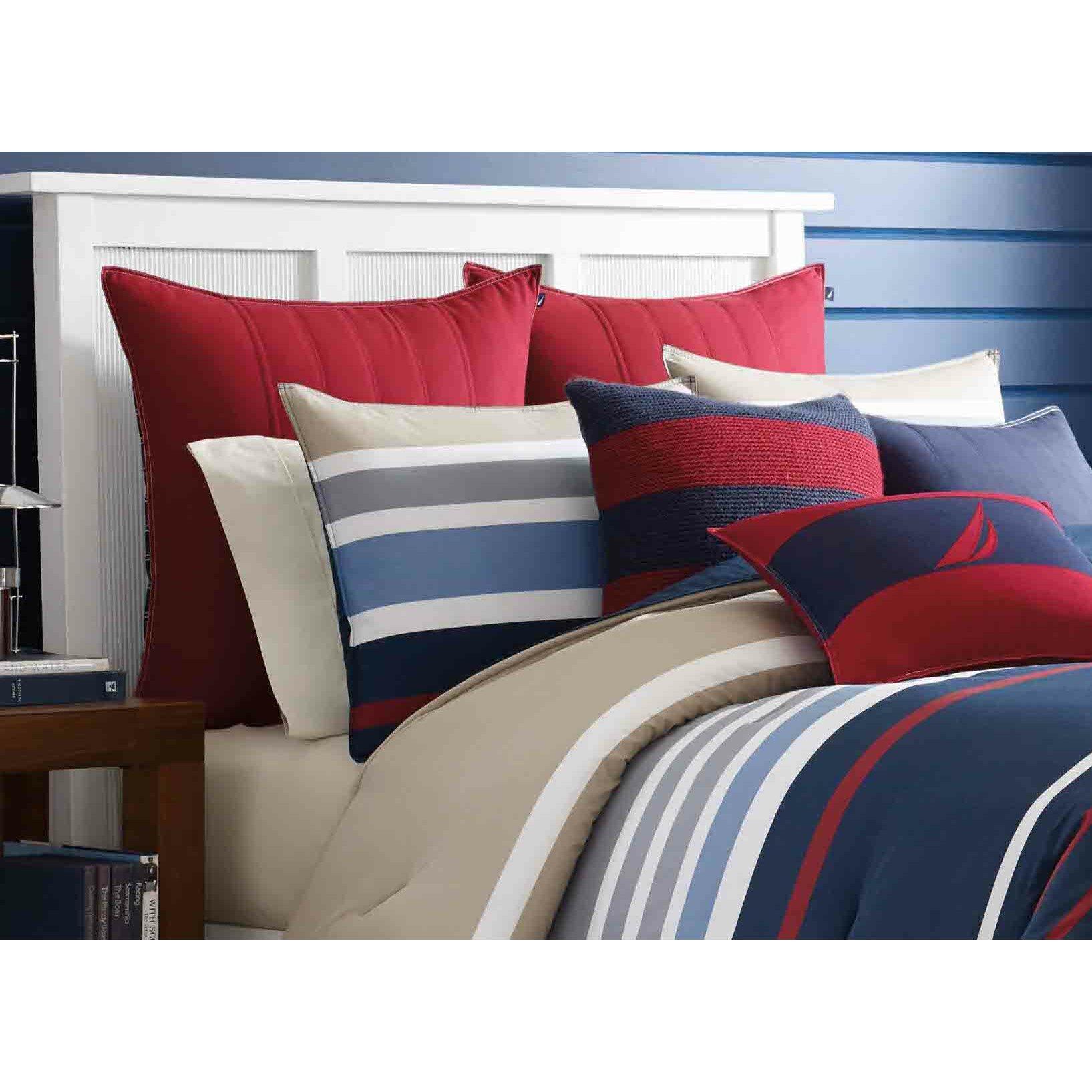Nautica Bedroom Furniture Bradley Reversible Cotton Comforter Set By Nautica Reviews