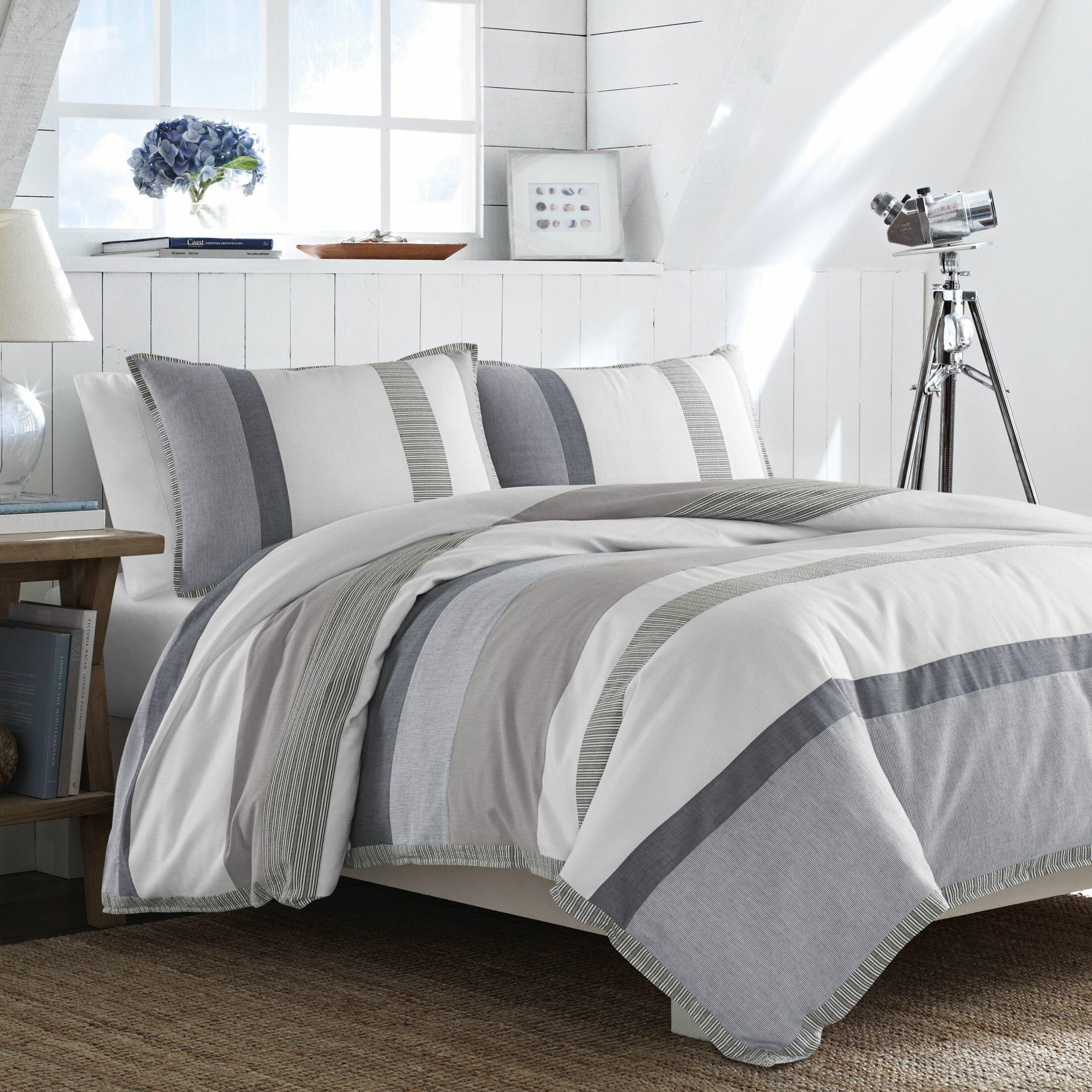 Nautica Bedroom Furniture Nautica Tideway Comforter Set Reviews Wayfair