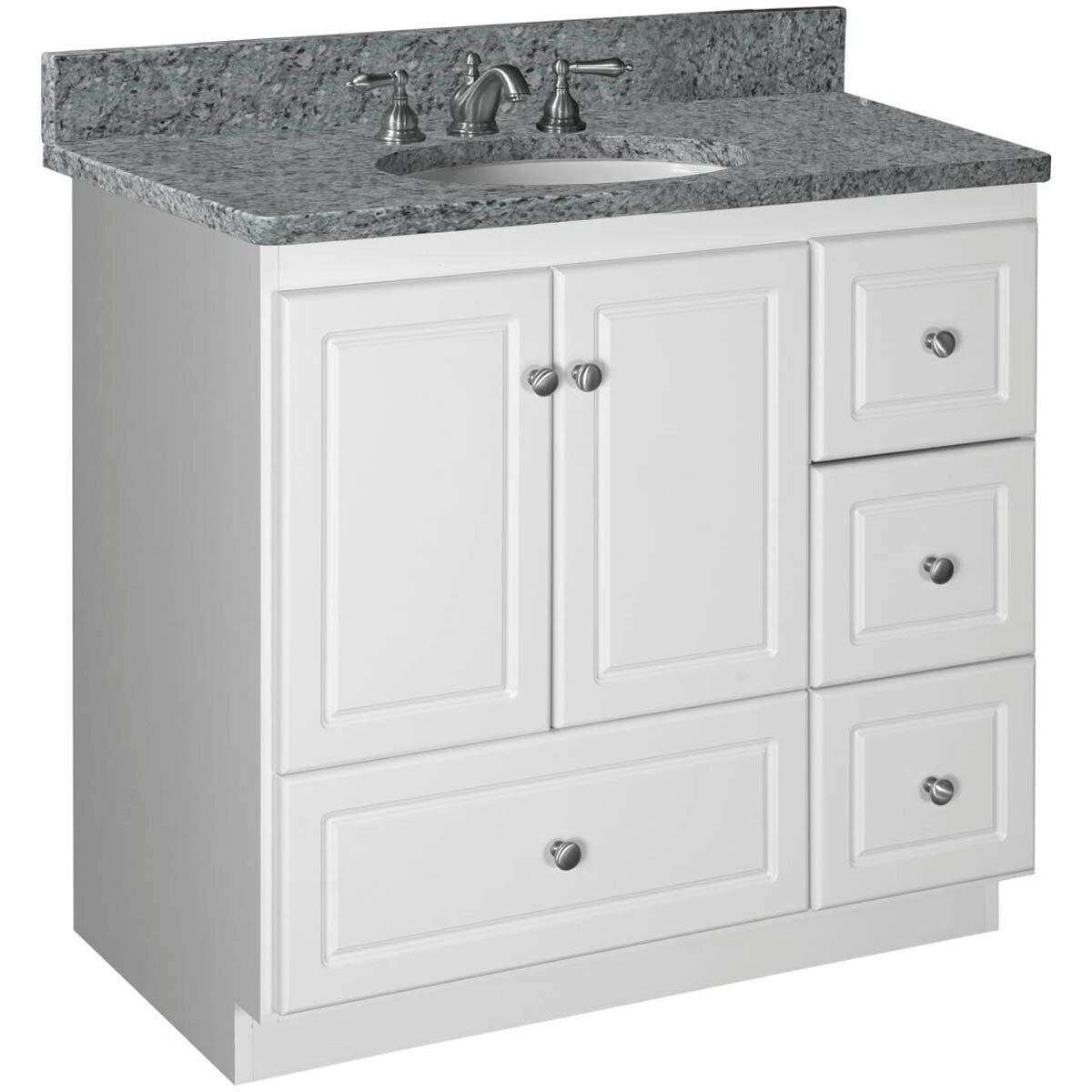 Strasser Woodenworks Simplicity 36 quot  Bathroom Vanity Base. Strasser Woodenworks Simplicity 36  Bathroom Vanity Base   Reviews