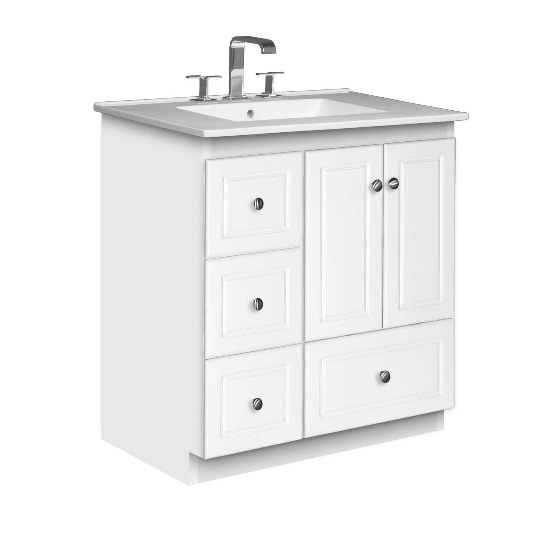Strasser Woodenworks Simplicity 31 quot  Single Bathroom Vanity Set. Strasser Woodenworks Simplicity 31  Single Bathroom Vanity Set