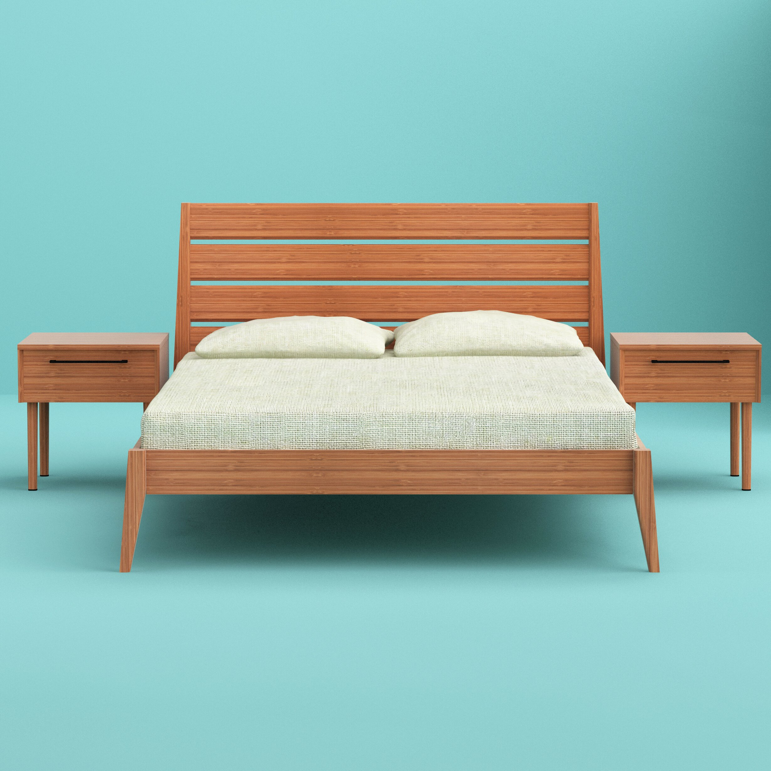Platform Bedroom Greenington Sienna Platform Bed Reviews Wayfair