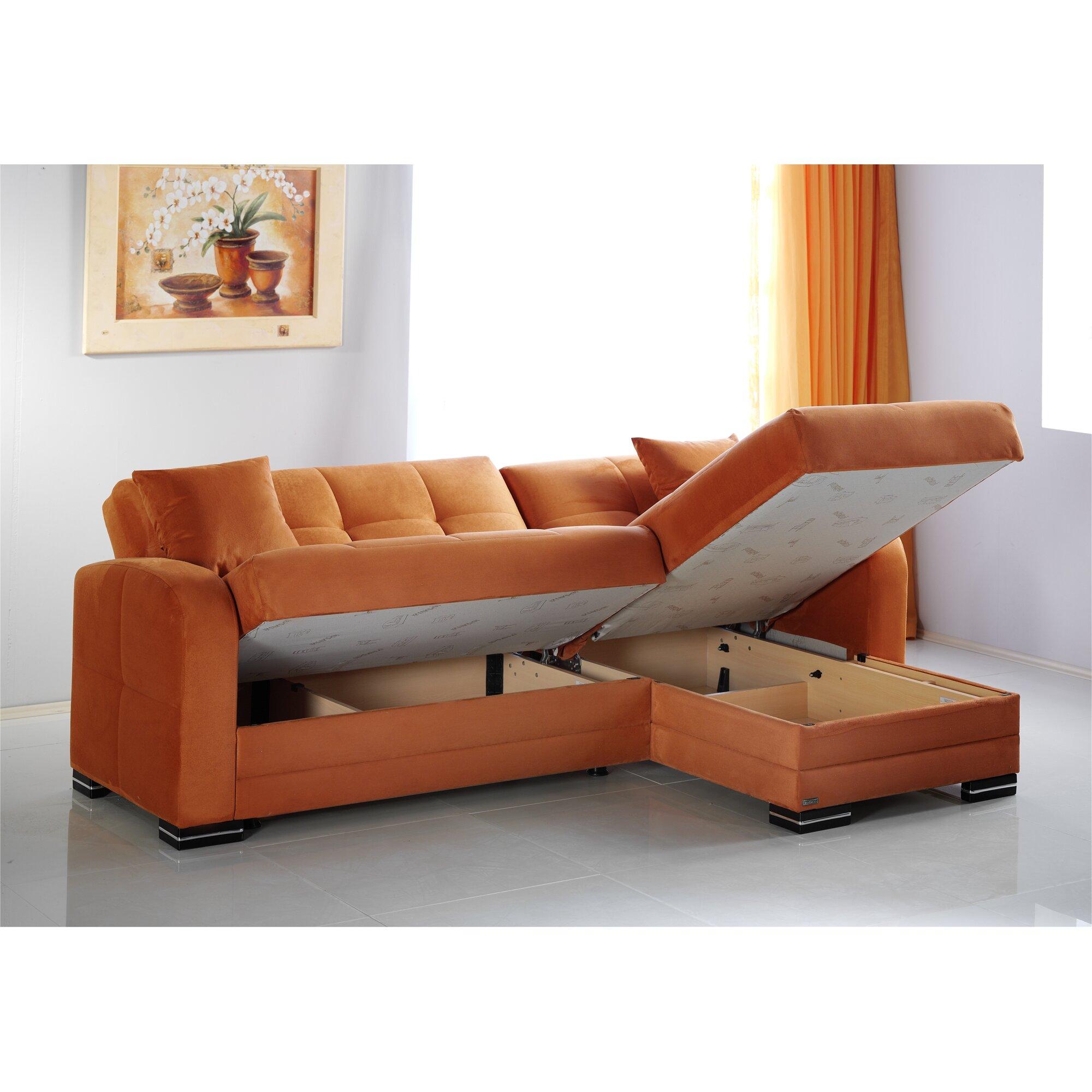 Kubo Corner Chaise Sofa Bed Refil Sofa