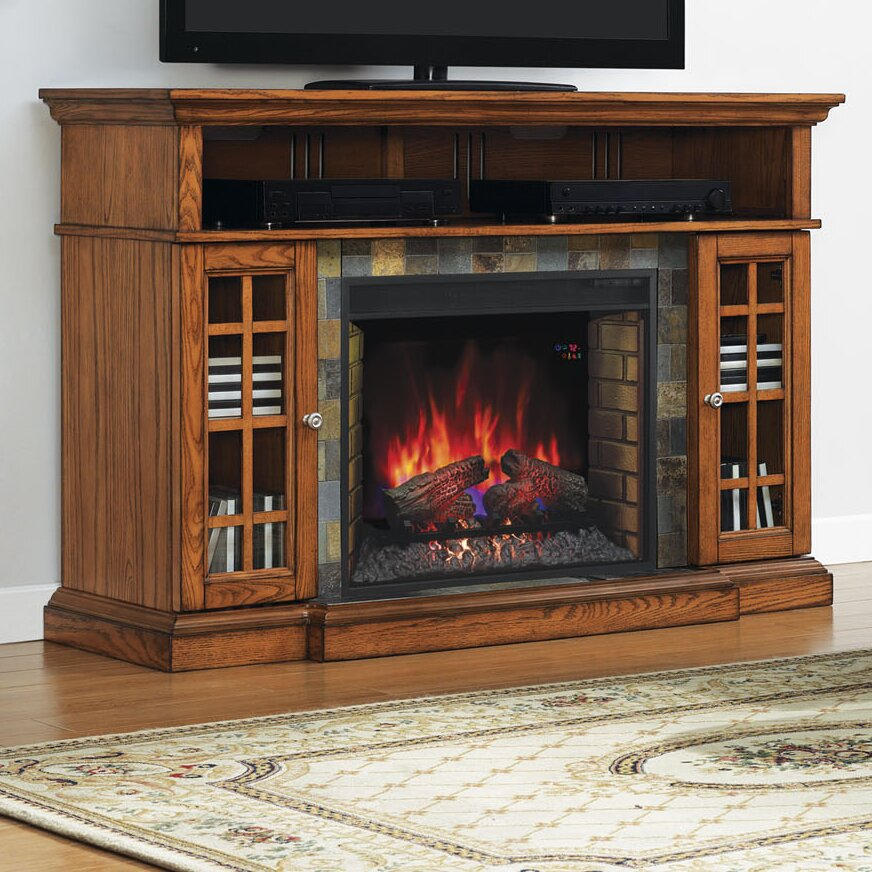 Classic Flame Lakeland TV Stand Electric Fireplace Insert
