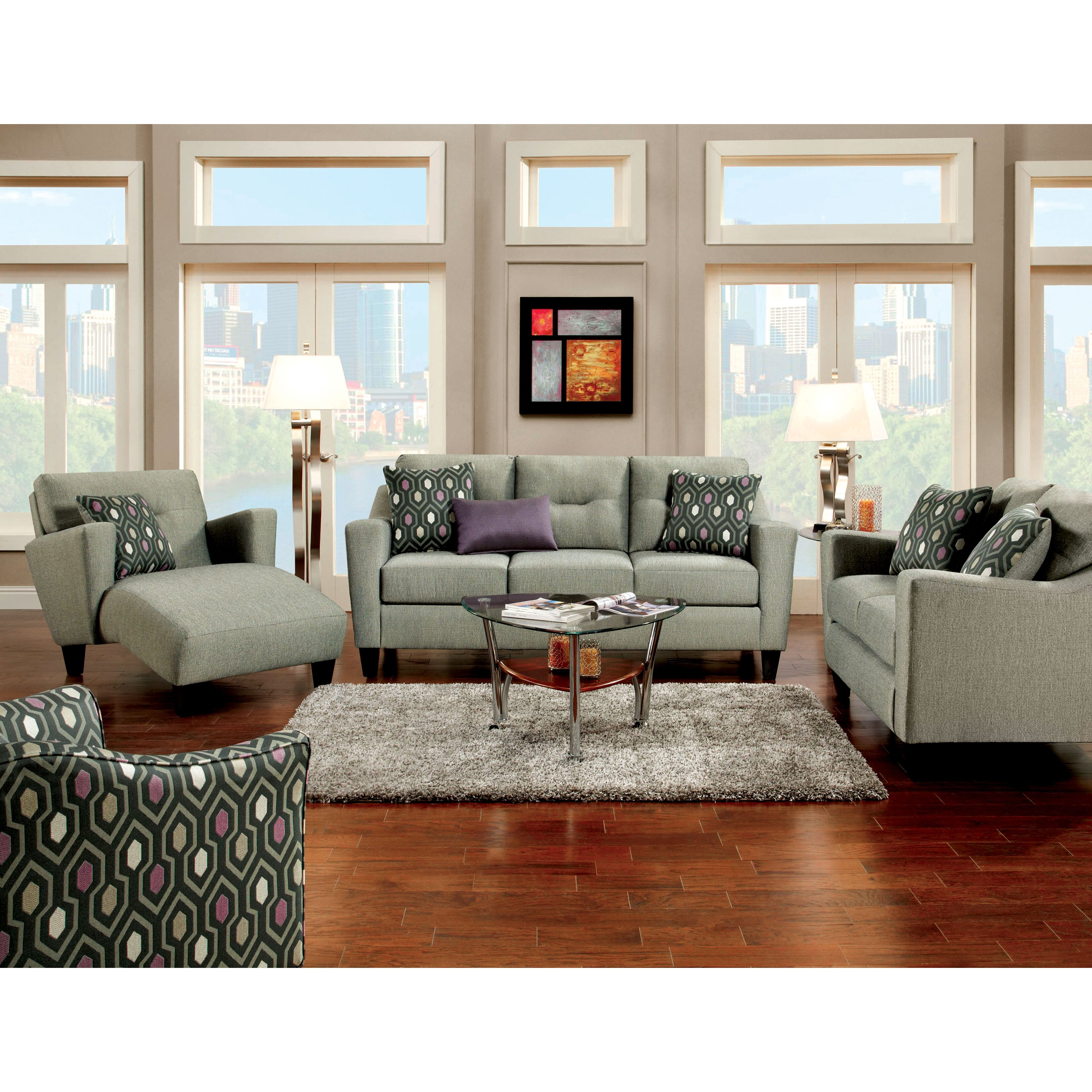 Hokku Designs Hokku Designs Violette Modern Arm Chair Wayfair