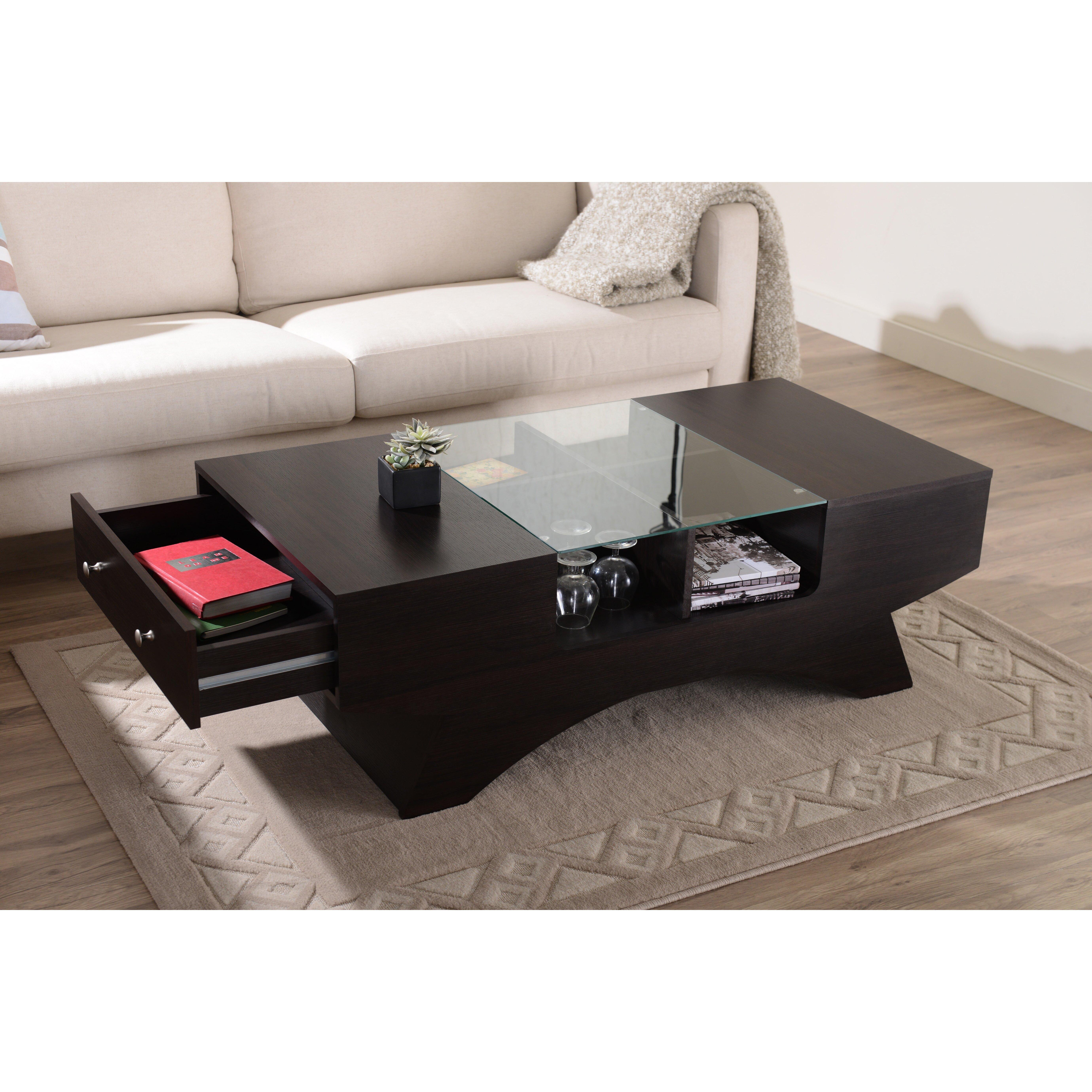 hokku designs walters coffee table reviews wayfair. Black Bedroom Furniture Sets. Home Design Ideas