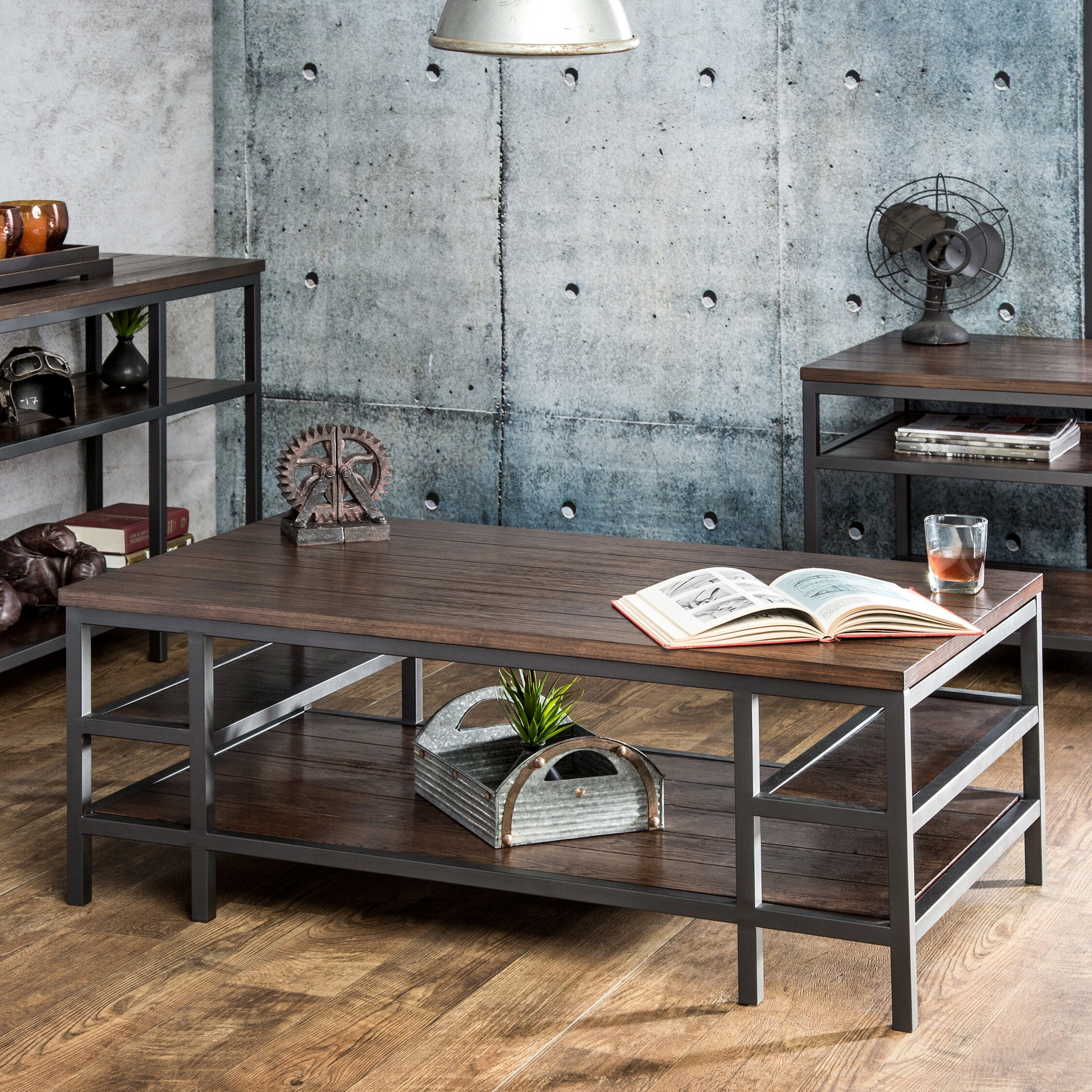 Hokku Coffee Table Sets: Hokku Designs Kizan Coffee Table & Reviews