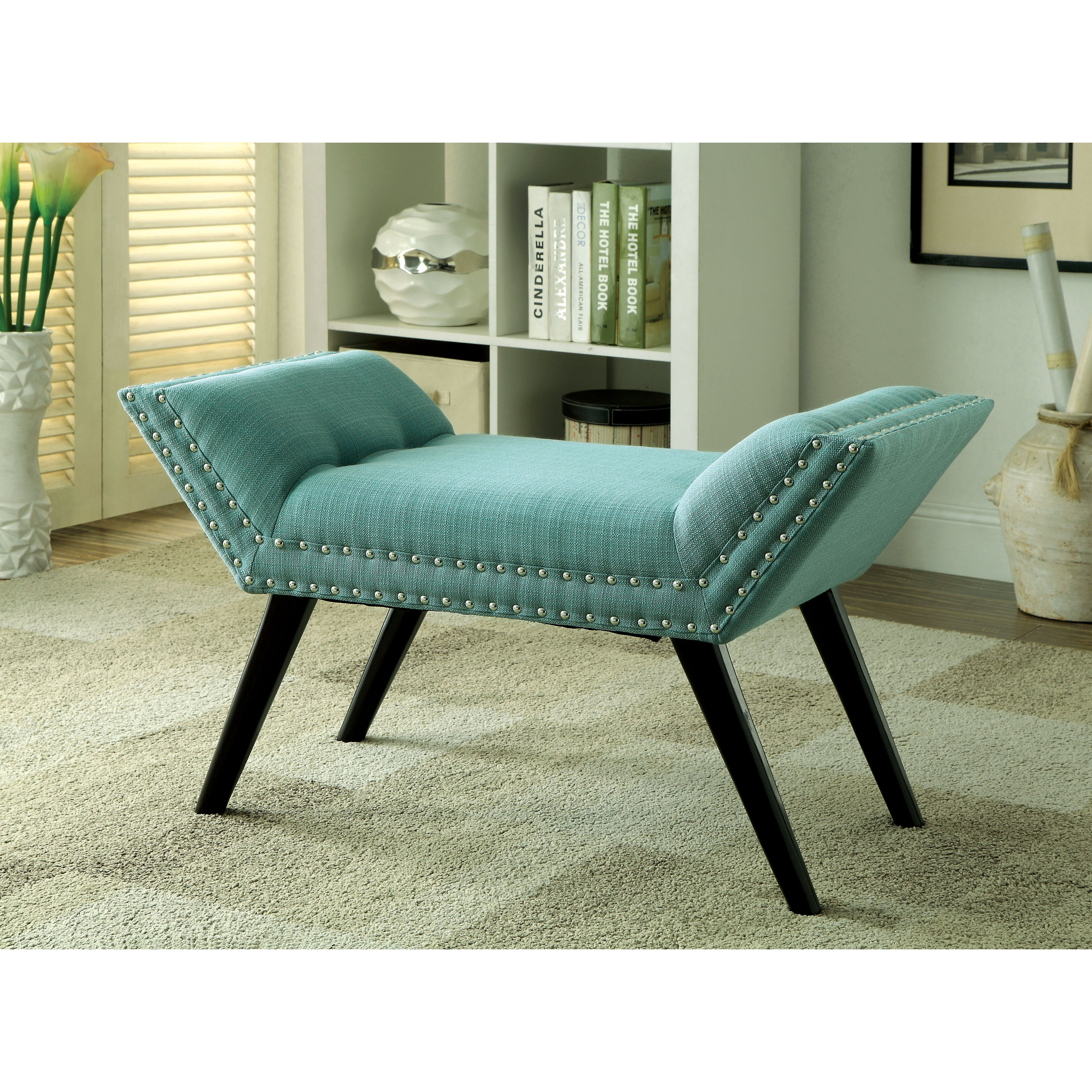 Leather Bedroom Bench Hokku Designs Linden Upholstered Bedroom Bench Reviews Wayfair