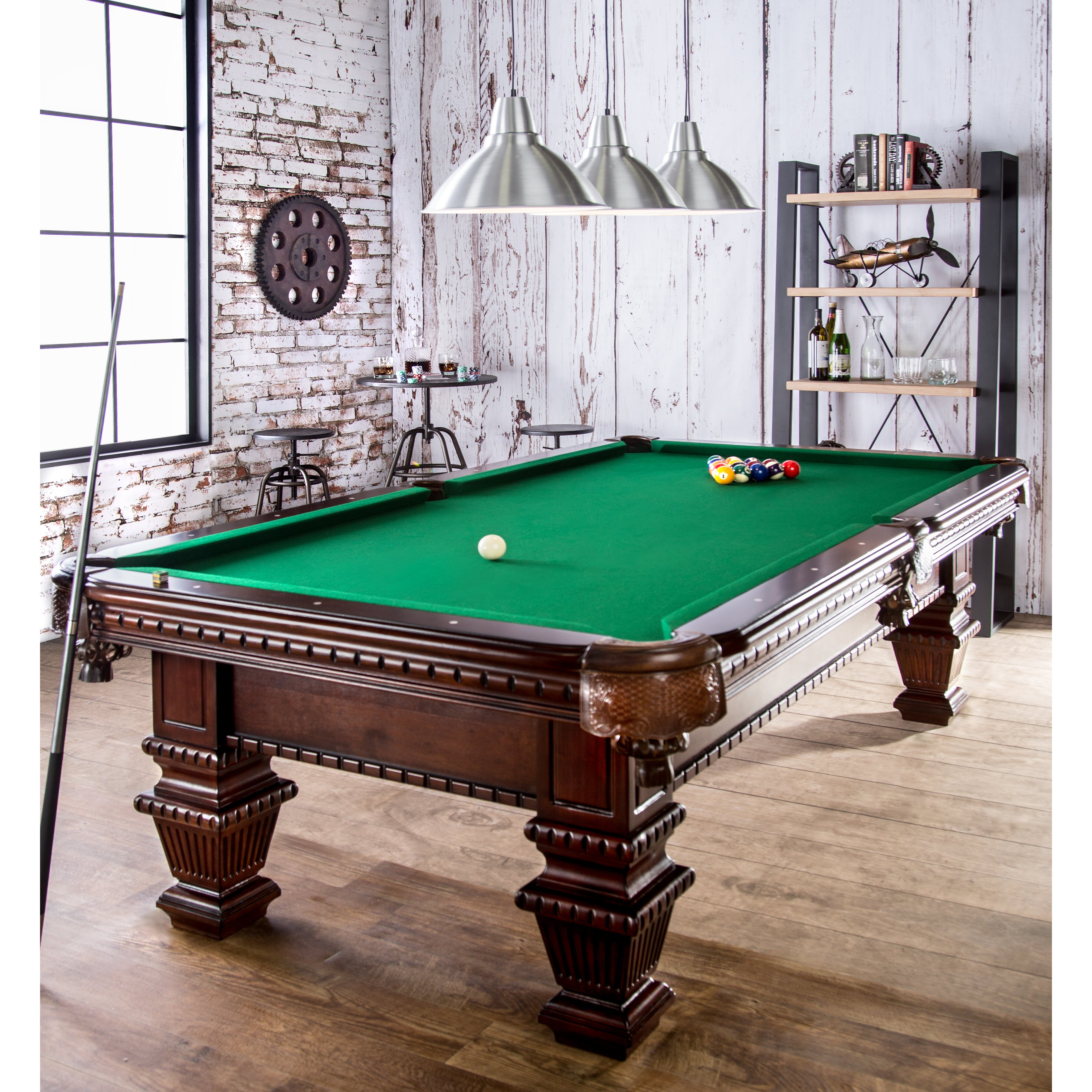 Hokku Designs Goliath 8 39 Pool Table Reviews Wayfair