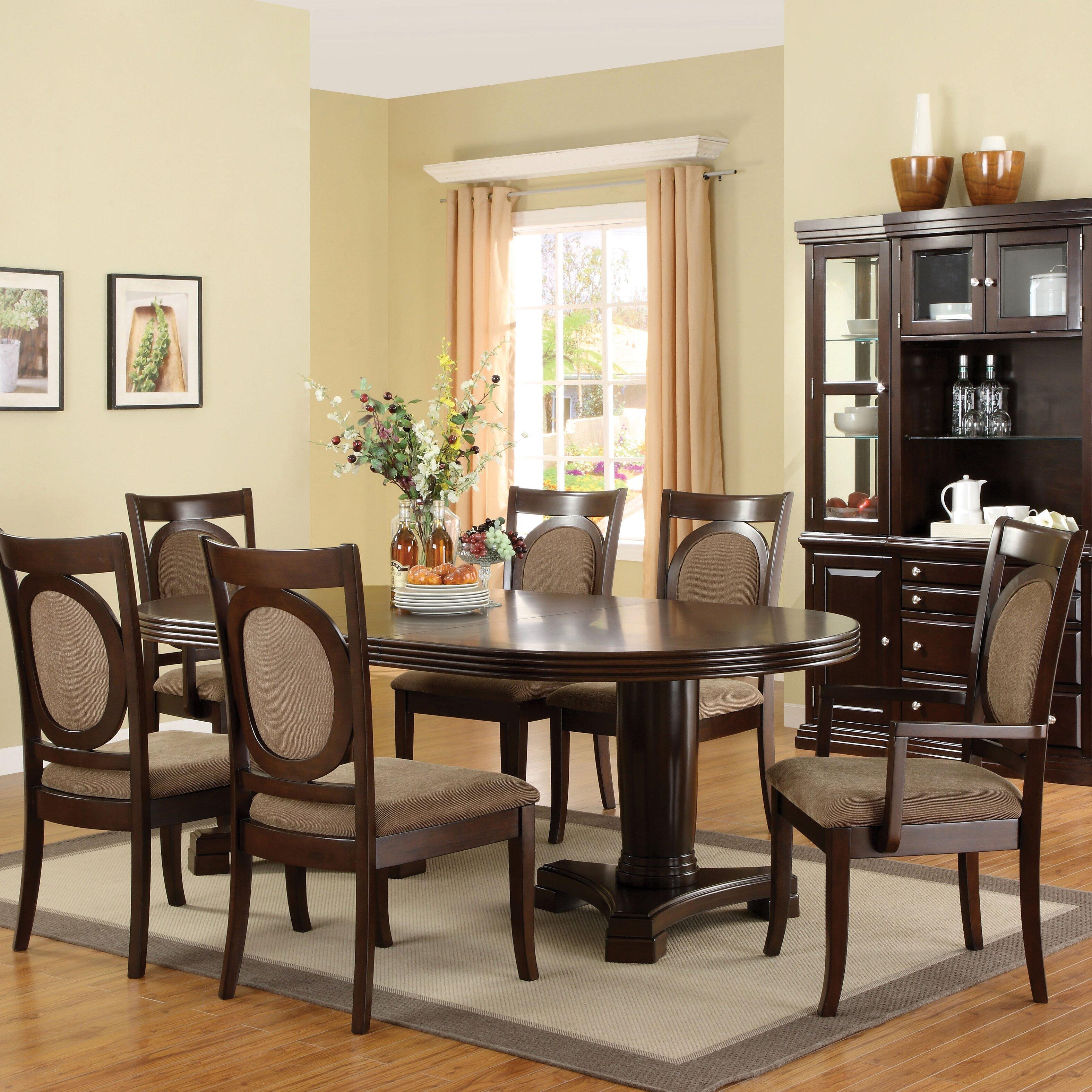 hokku designs regan 7 piece dining set reviews wayfair dinin