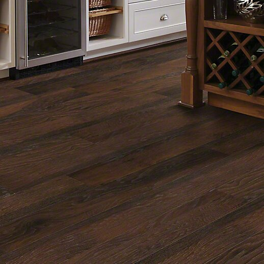 Love this laminate flooring in Hickory