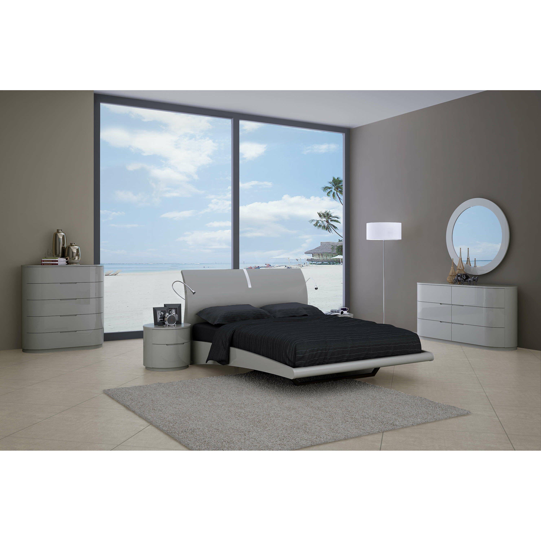 Shiny Black Bedroom Furniture Modern Contemporary Bedroom Sets Allmodern