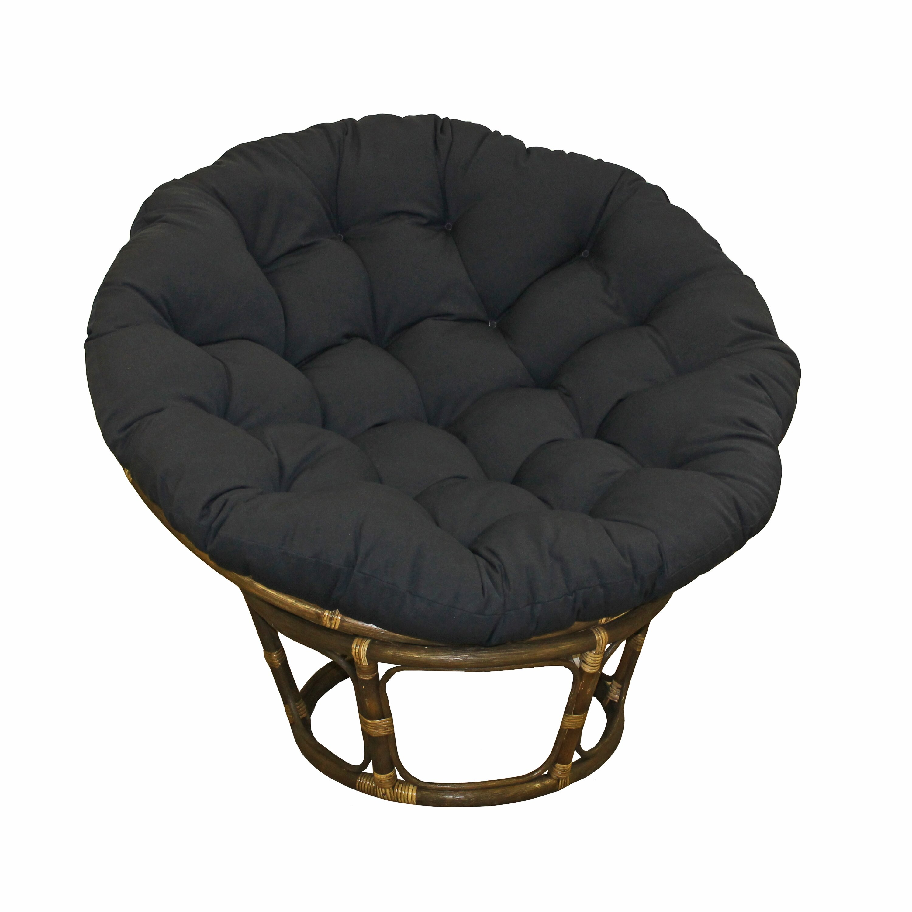 Blazing Needles Papasan Lounge Chair Cushion & Reviews