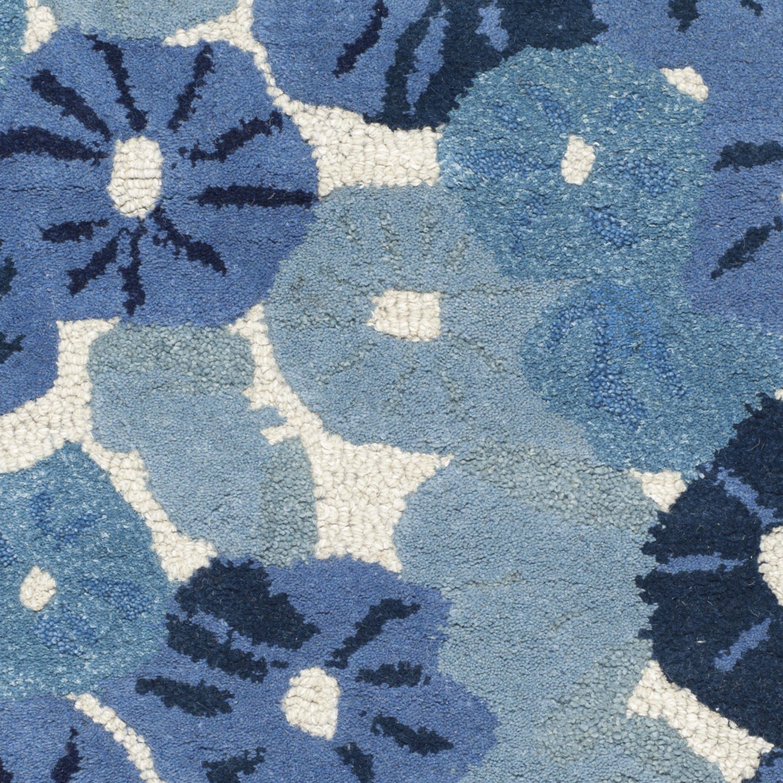 martha stewart rugs martha stewart azurite blue area rug - Martha Stewart Rugs