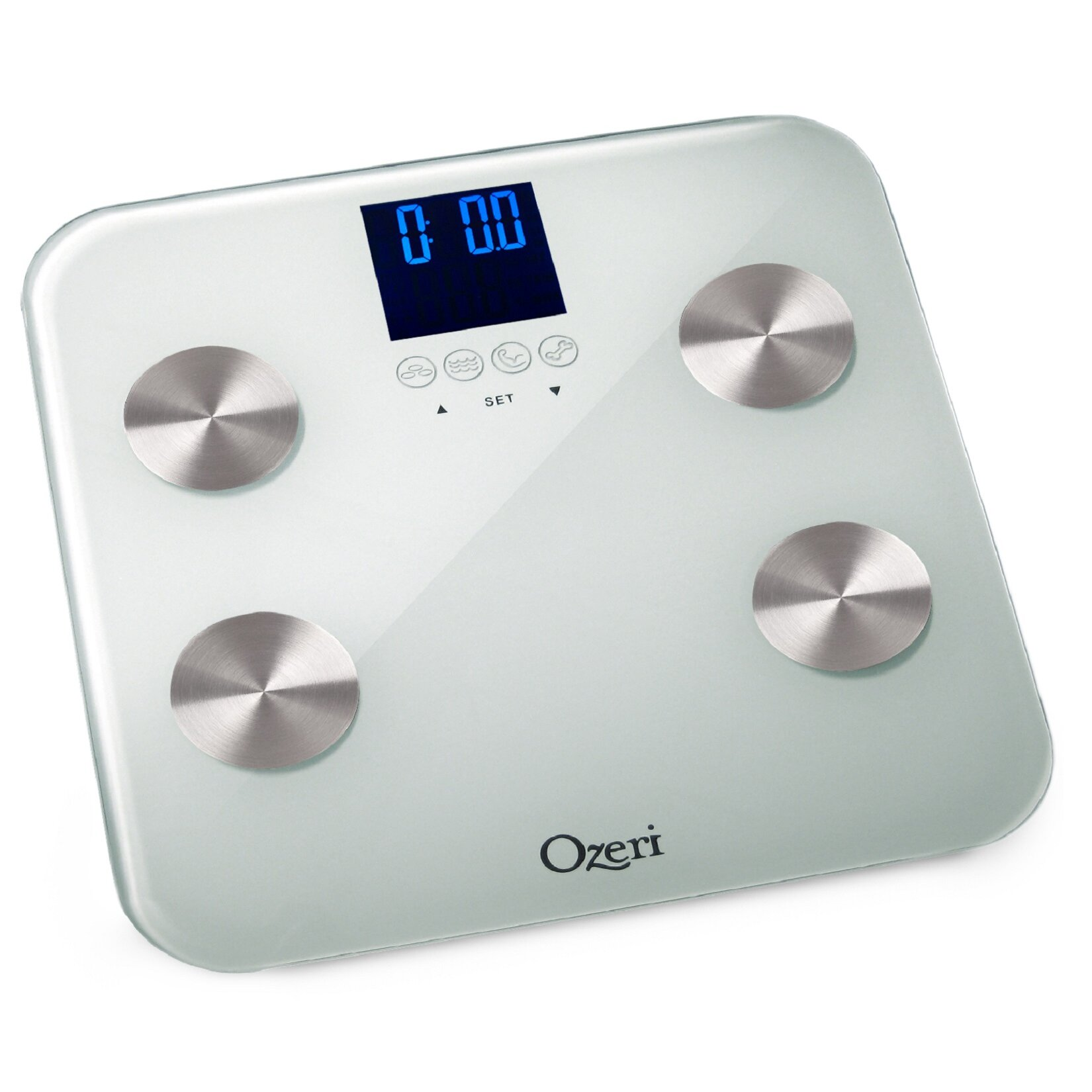 Ozeri Touch 440 lbs Total Body Bath Scale   Auto Recognition and Infant Tare Technology. Ozeri Touch 440 lbs Total Body Bath Scale   Auto Recognition and