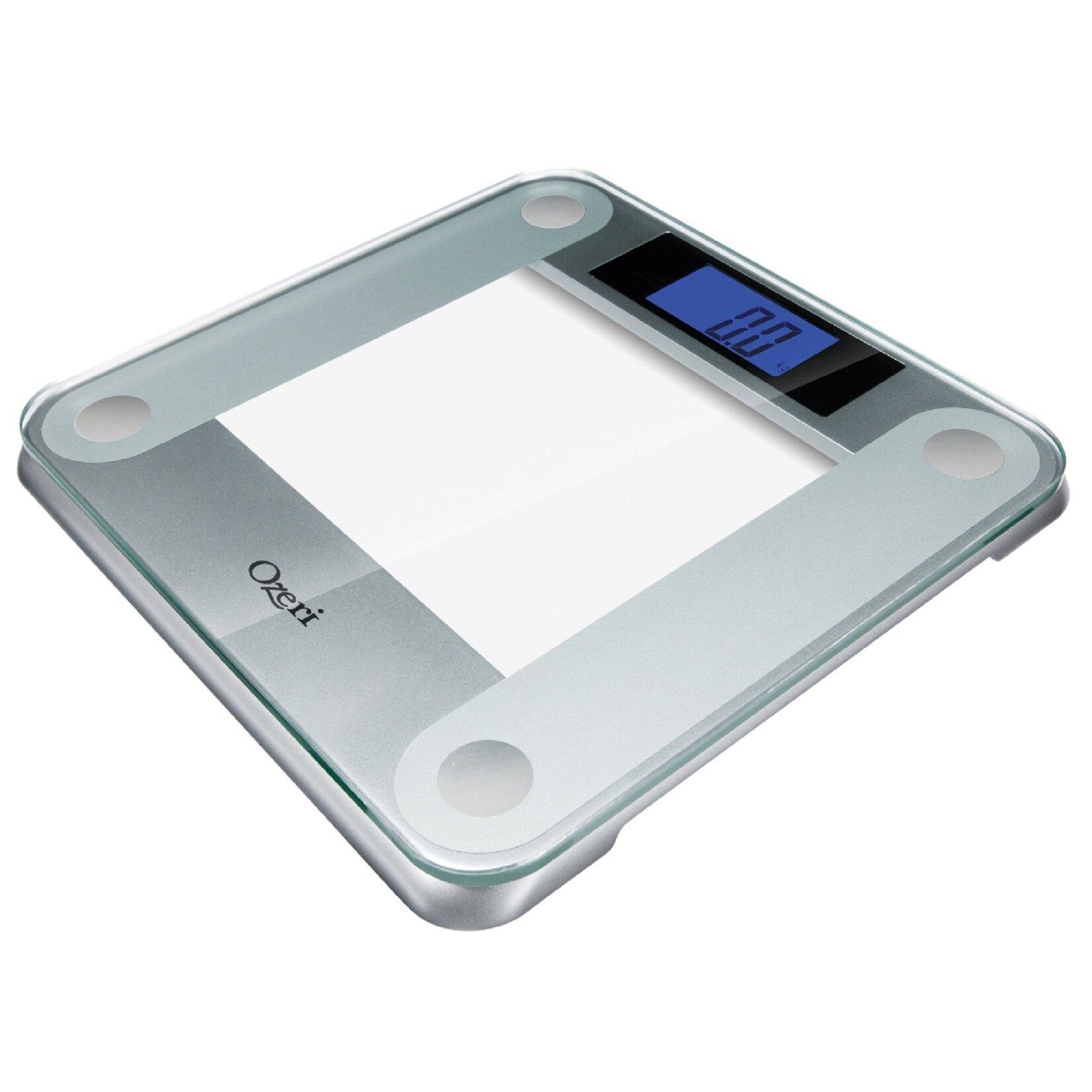 Ozeri Precision II Digital Bathroom Scale  440 lbs Capacity   with Weight Change Detection. Ozeri Precision II Digital Bathroom Scale  440 lbs Capacity   with