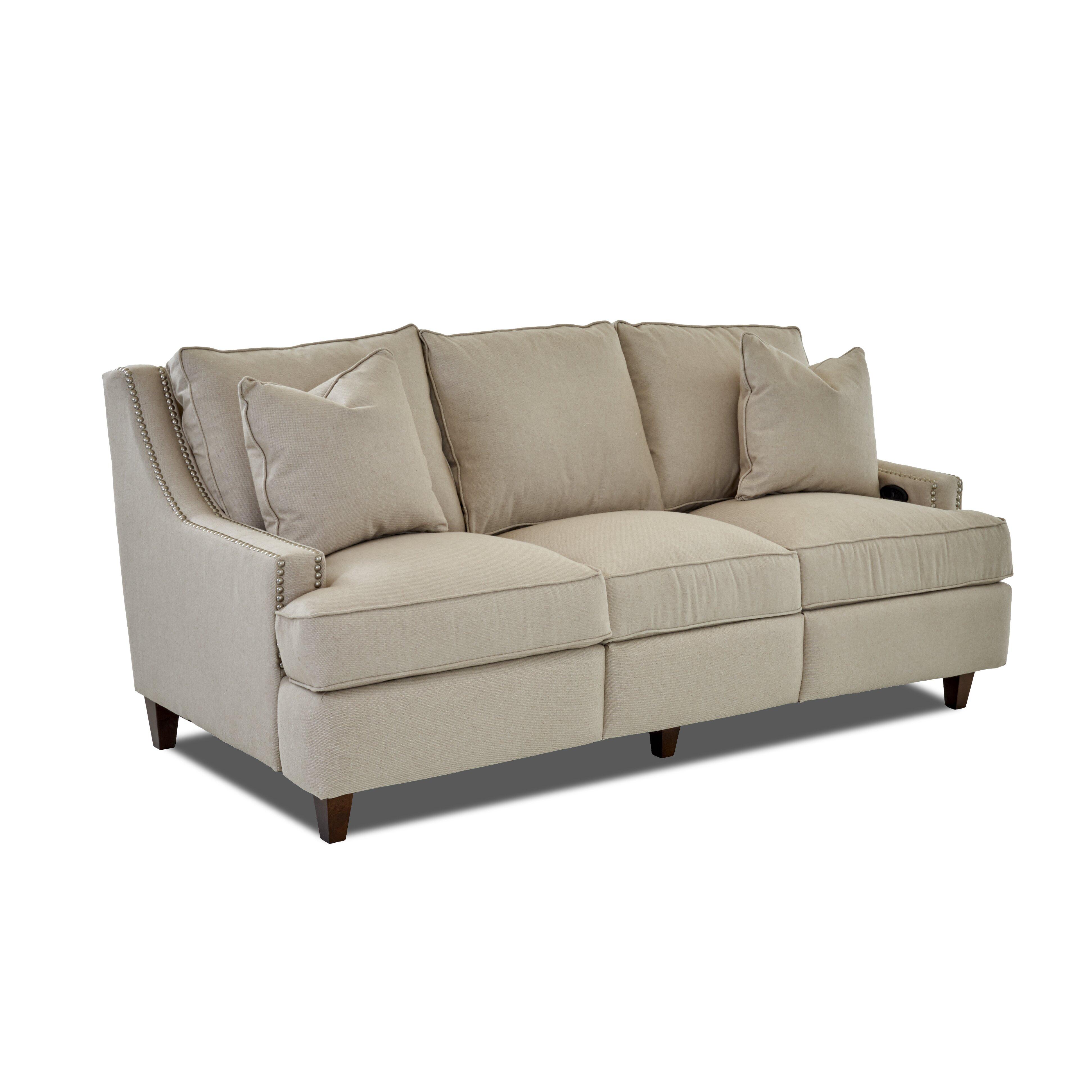Wayfair Custom Upholstery Tricia Power Hybrid Reclining