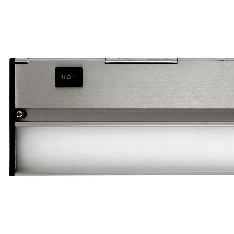 nicor lighting 12 led under cabinet bar light reviews. Black Bedroom Furniture Sets. Home Design Ideas